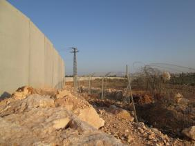 A new wall between Azun Atme and Oranit