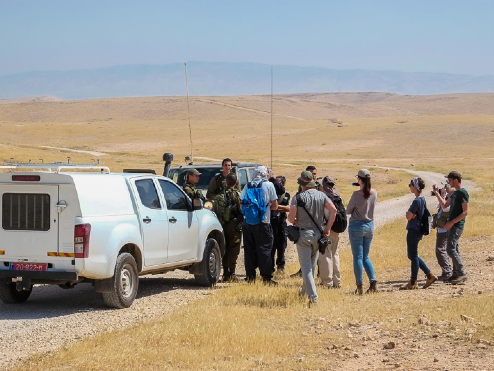 """דרום בקעת הירדן: כאן """"שטח צבאי סגור"""" רק לפלסטינים"""