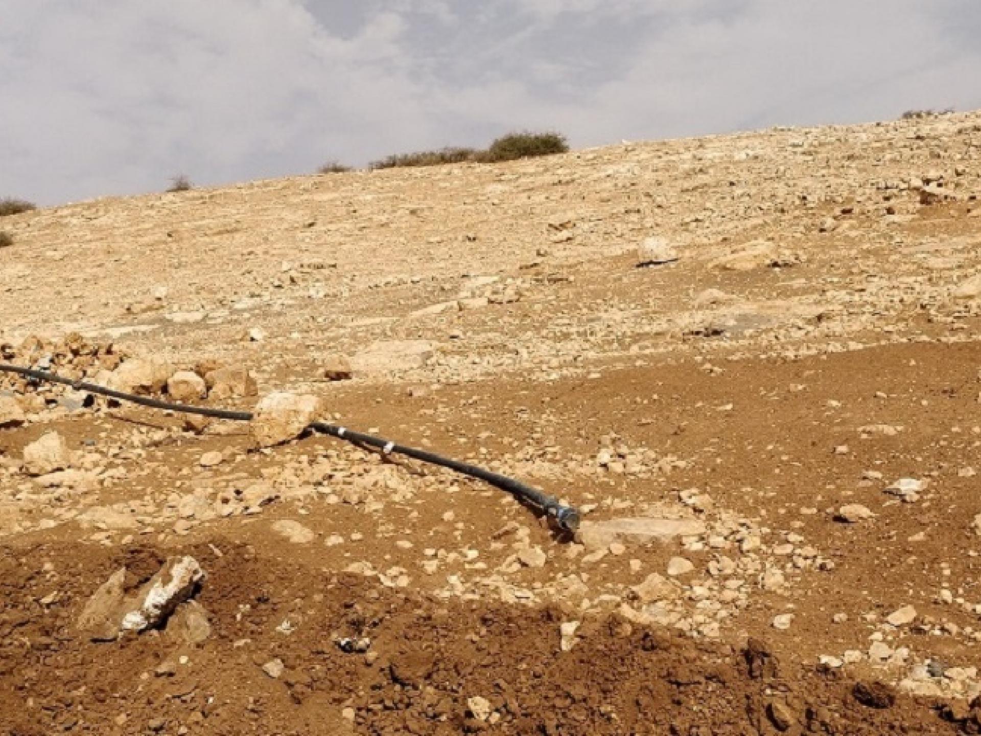 בקעת הירדן: הדרך החדשה שפרץ הצבא וצינורות ההשקייה שנחתכו