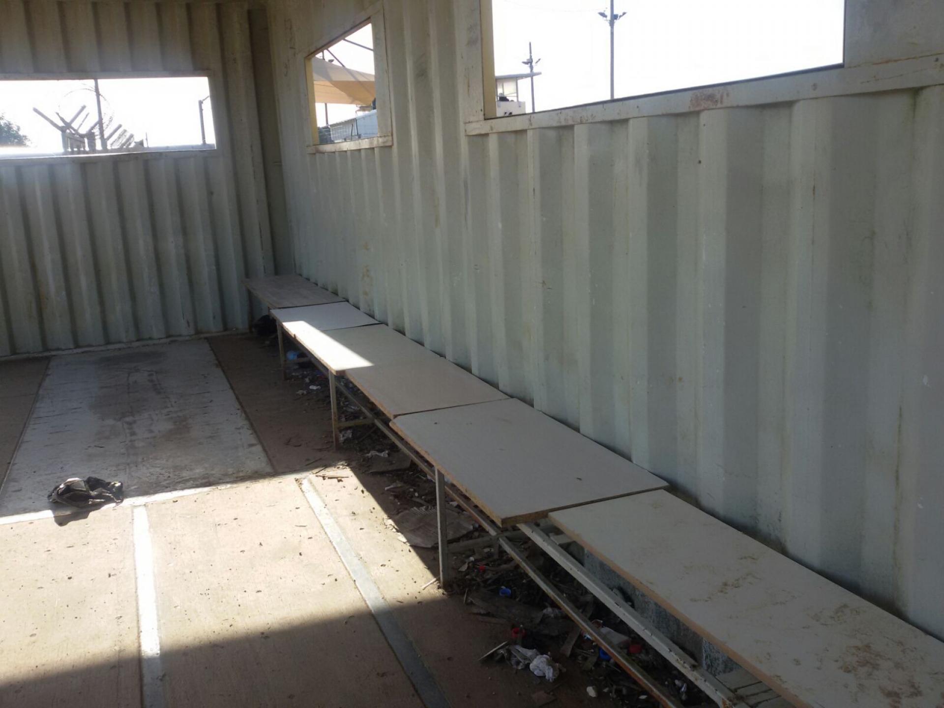 מחסום טורה: מישהו הניח לוחות דיקט על הספסלים השבורים