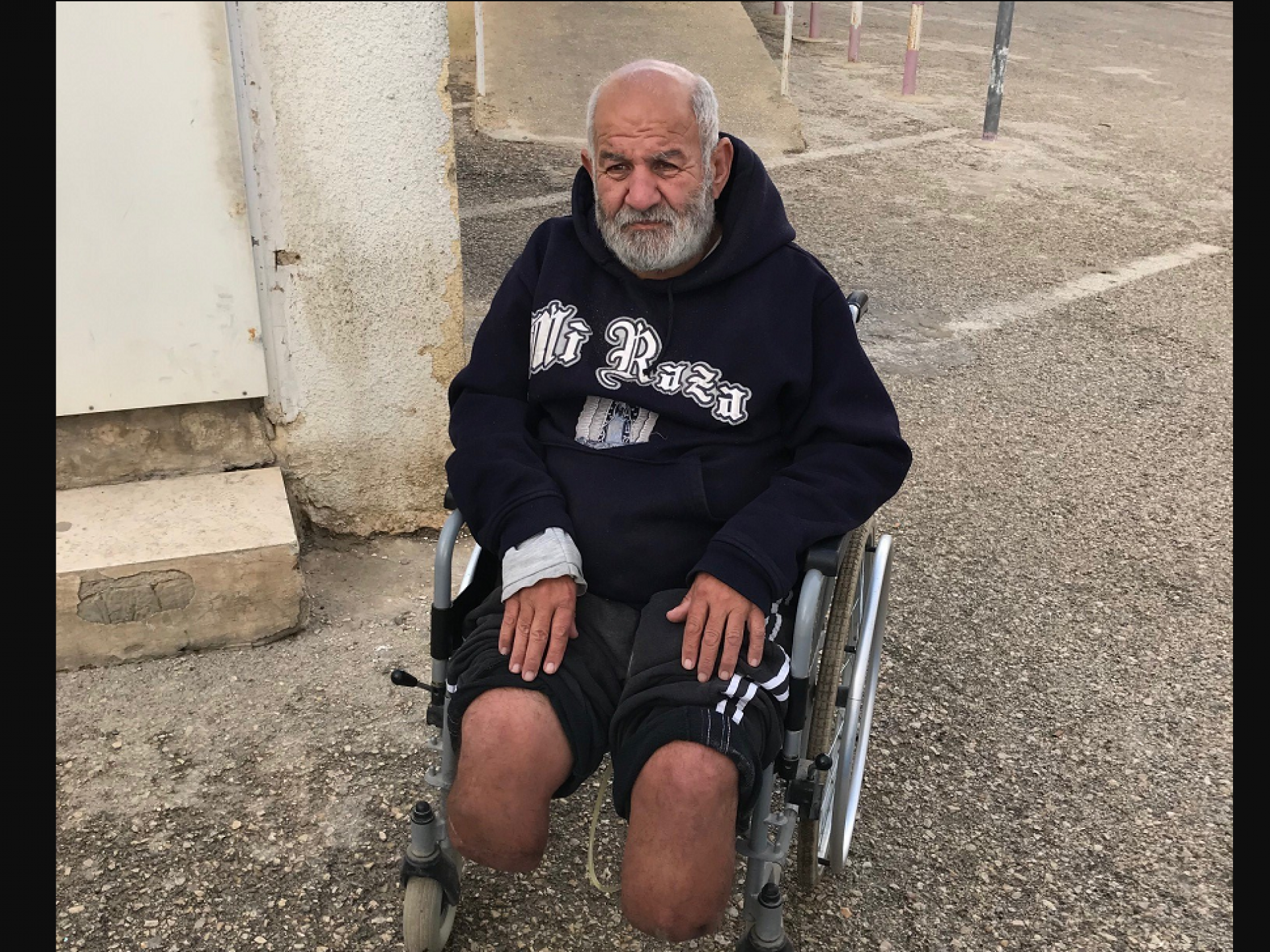 Etzion DCL: 63-year-old amputated man is not allowed to pray at the al Aqsa mosque in east Jerusalem,