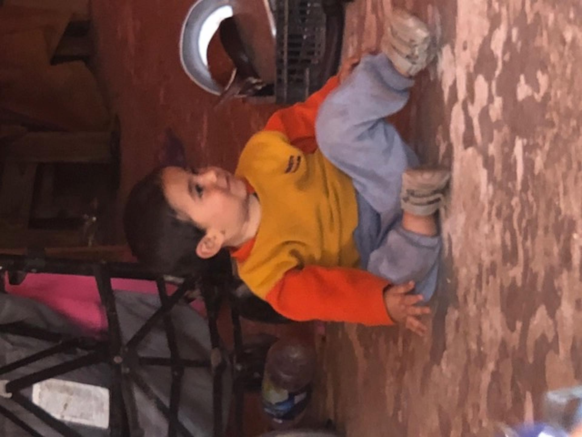 Rami from Makhoul in the Palestinian Jordan Valley – born with heart and lung defects