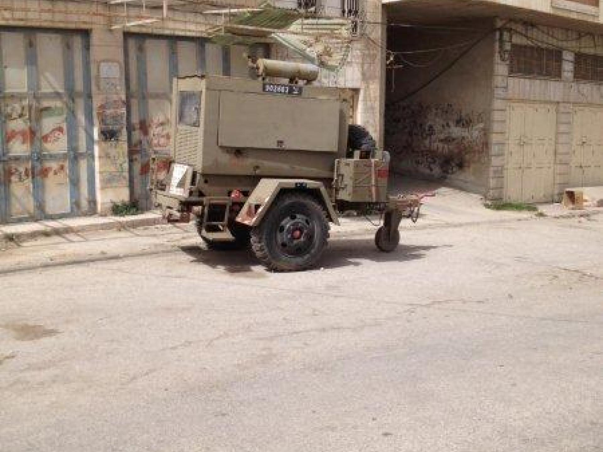 Hebron, Pharmacy checkpoint 08.04.13