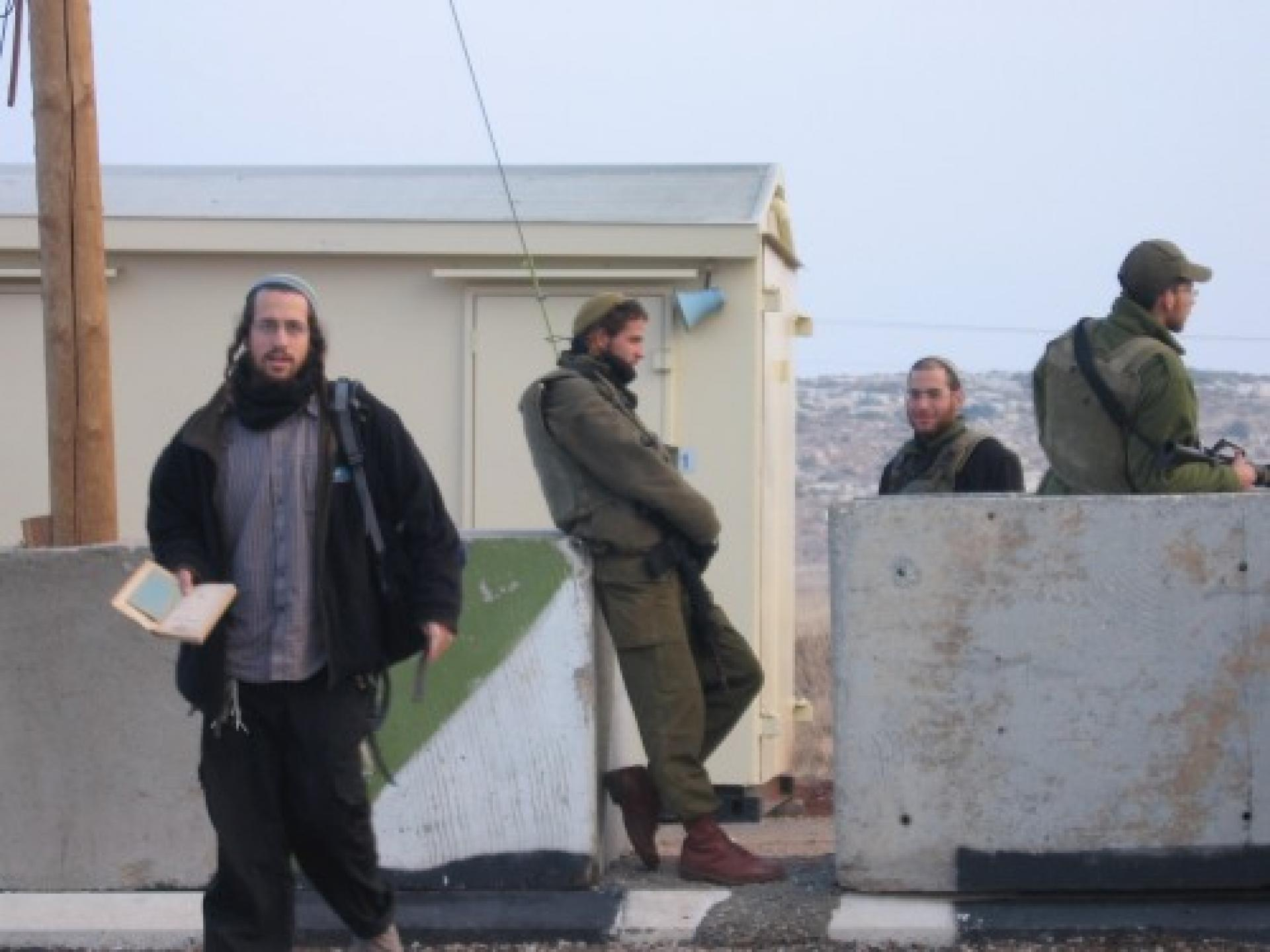 Ma'ale Efrayim checkpoint 02.01.07