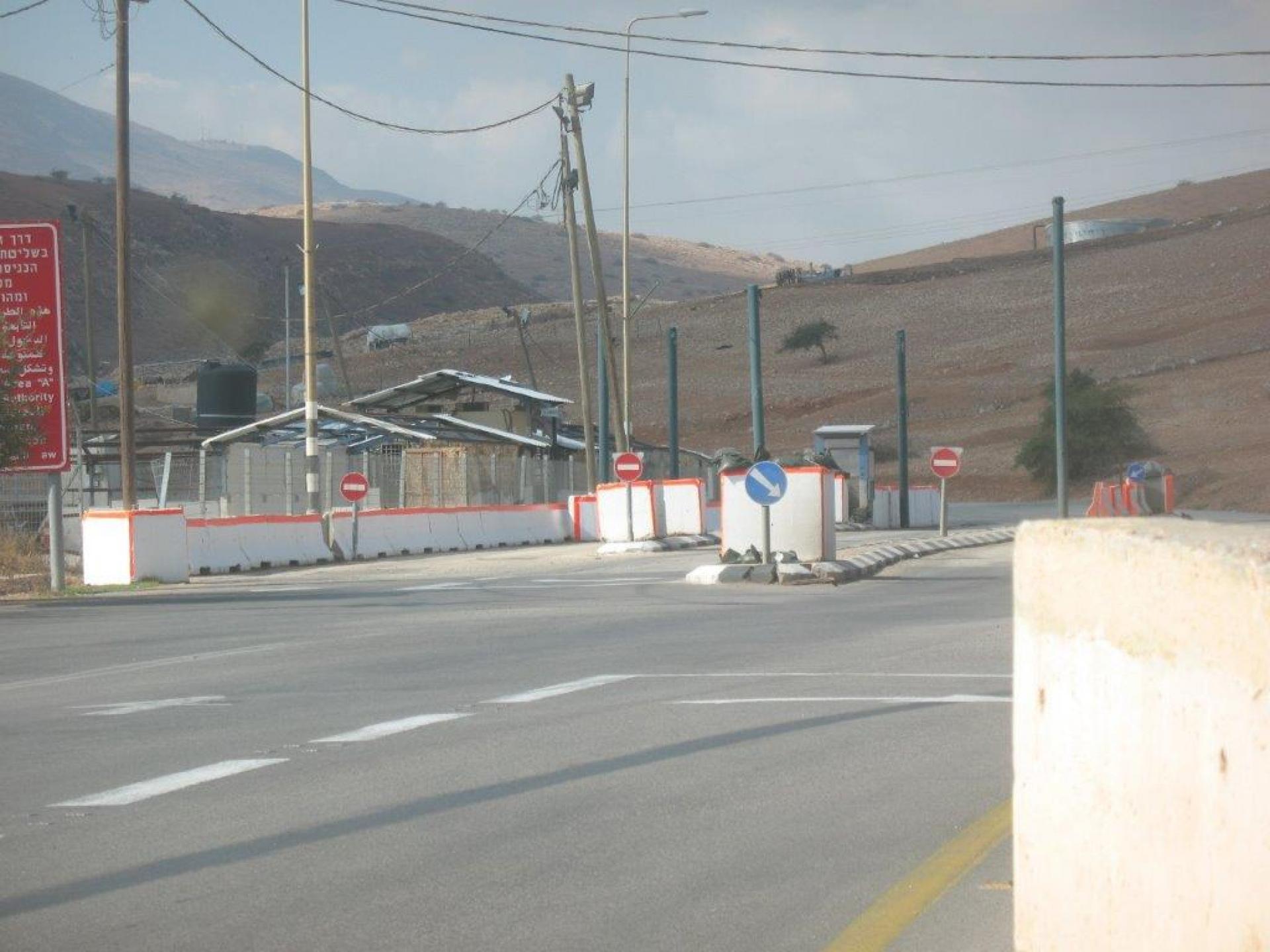 בקעת הירדן: מחסום חמרה