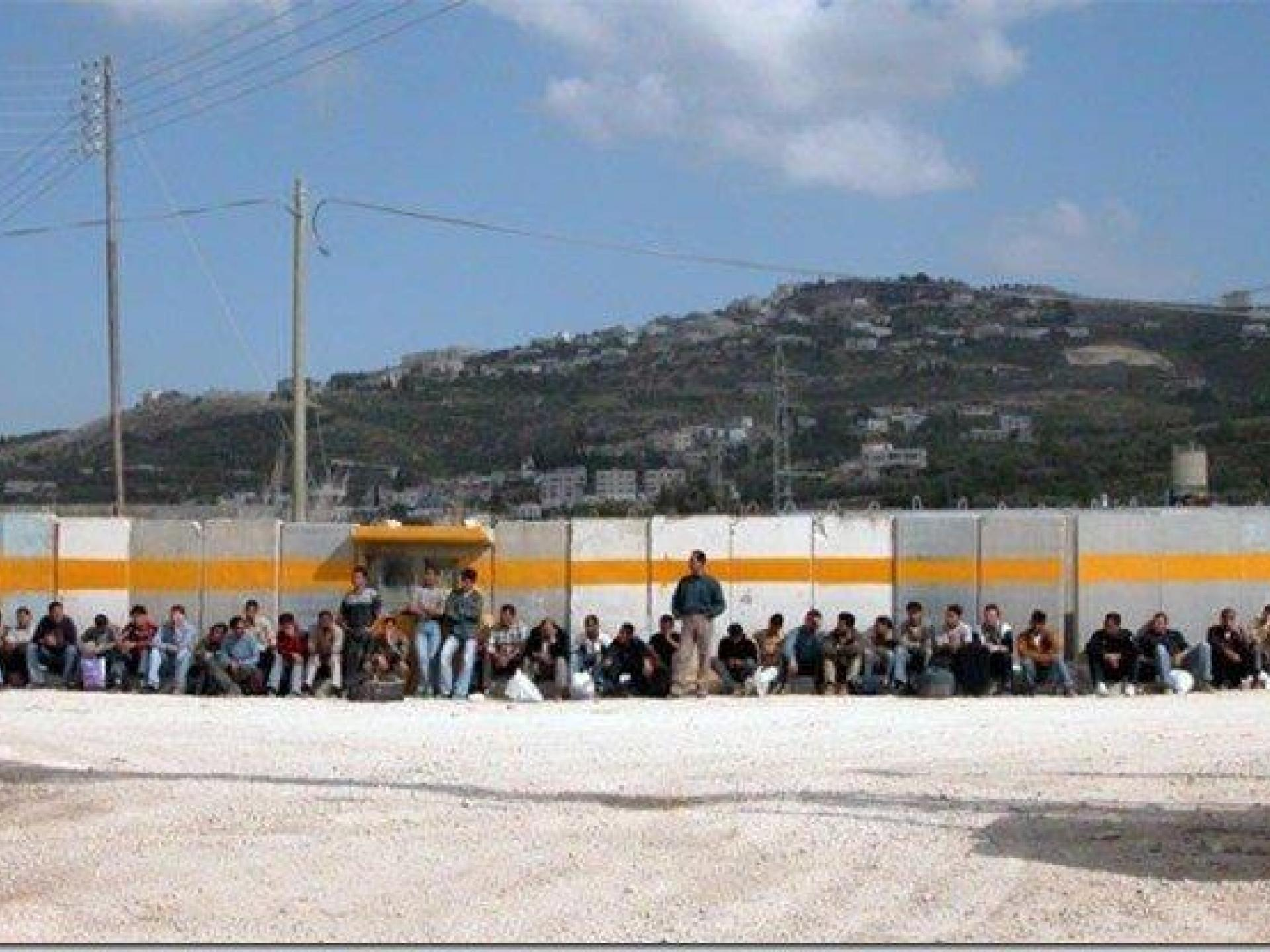 Beit-Iba checkpoint 22.04.04