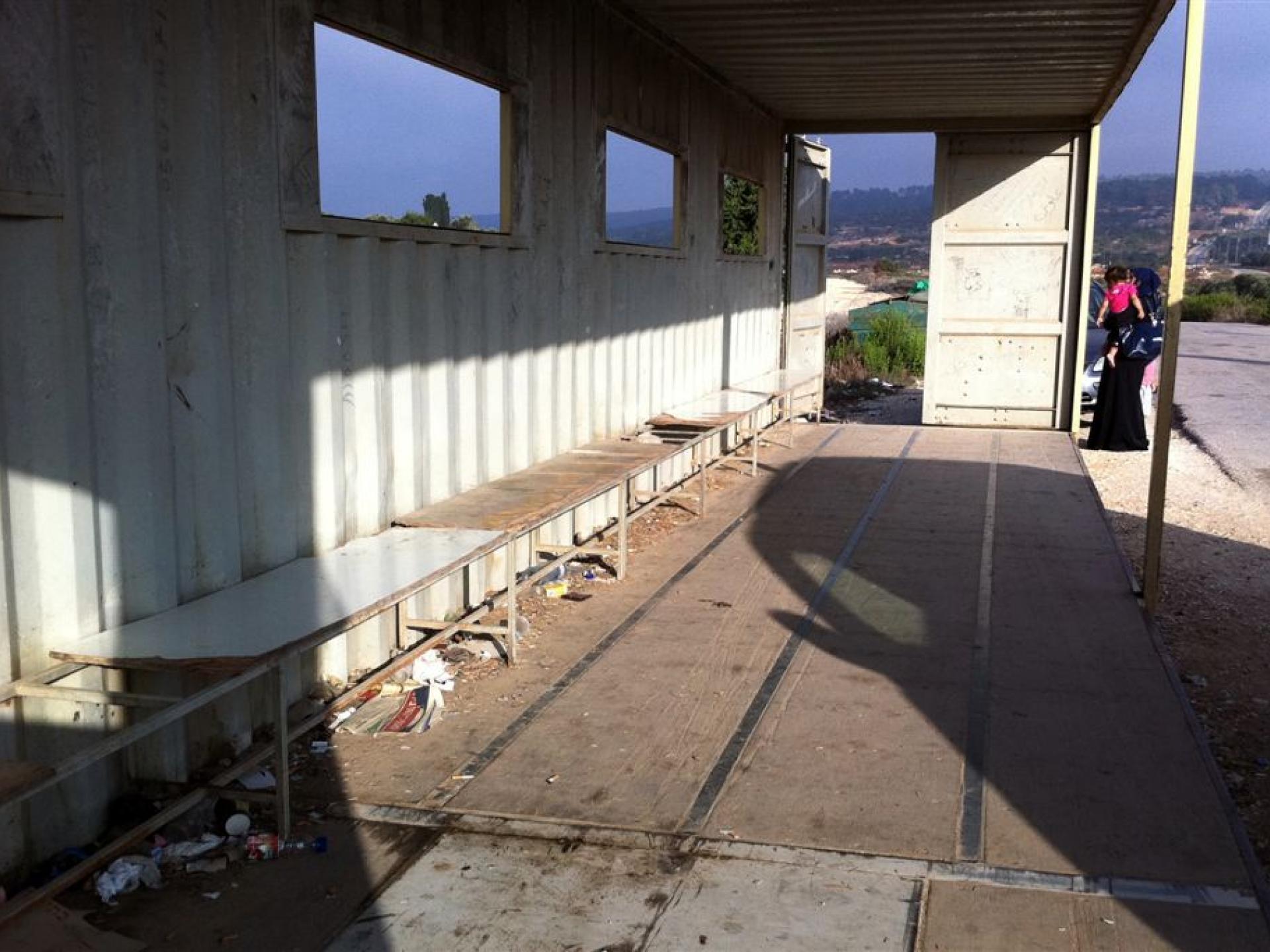24.08.14 Tura/shaked Checkpoint מחסום טורה-שקד