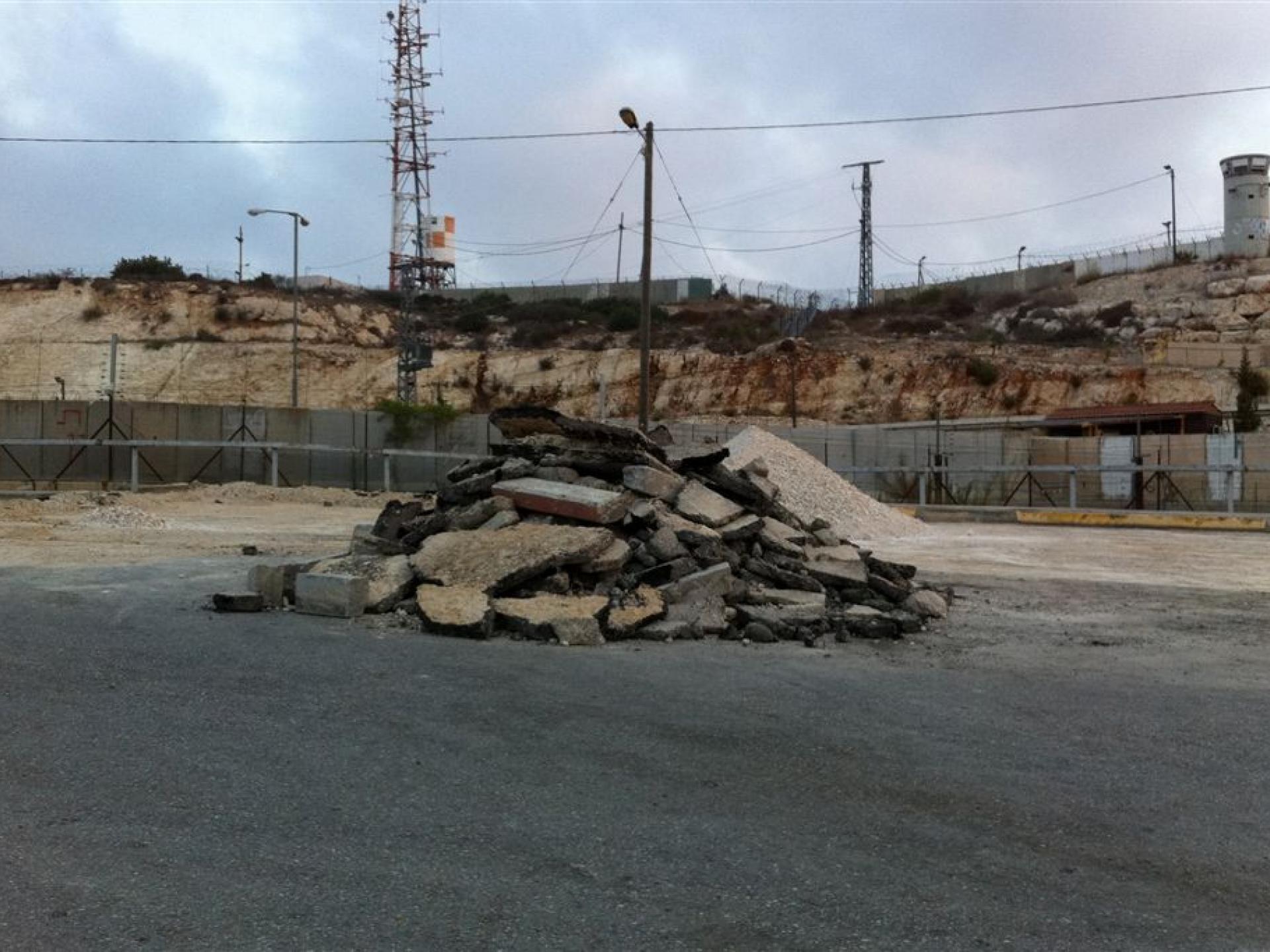 24.08.14 Barta'a/Reichan Checkpoint מחסום ברטעה-ריחן