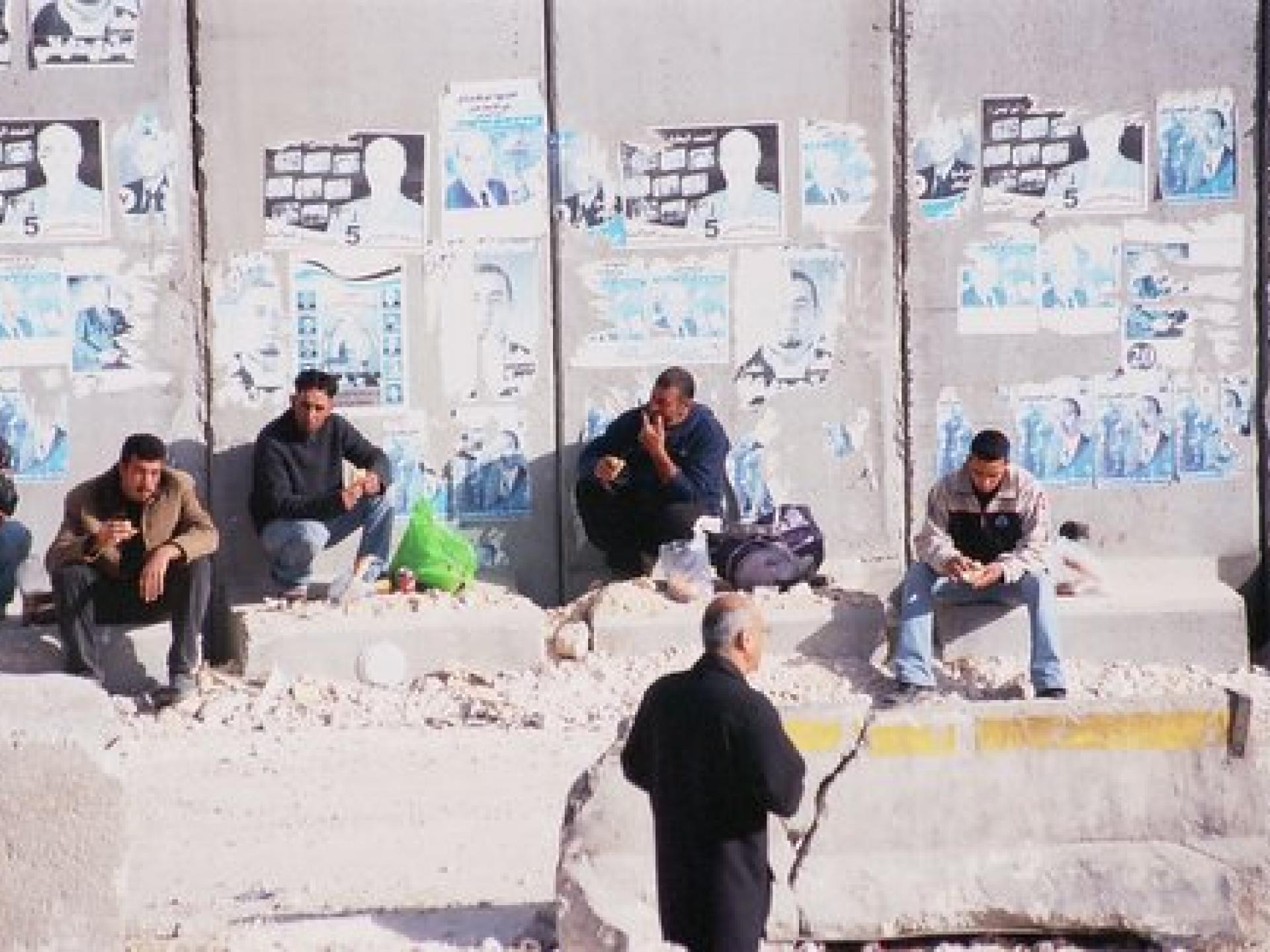 Qalandiya checkpoint 26.03.06