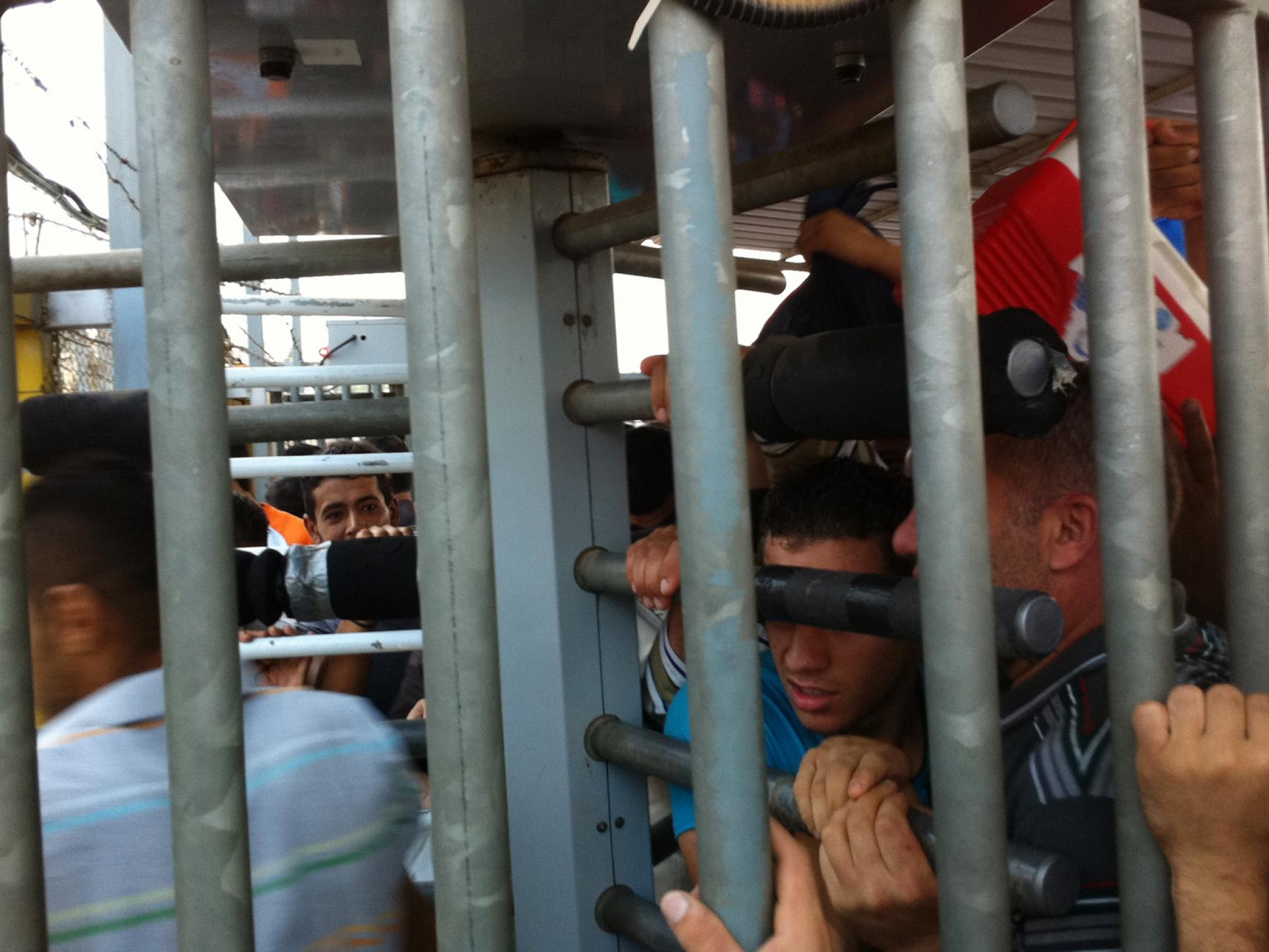 13.09.15 Barta'a/Reihan Checkpoint מחסום ברטעה-ריחן
