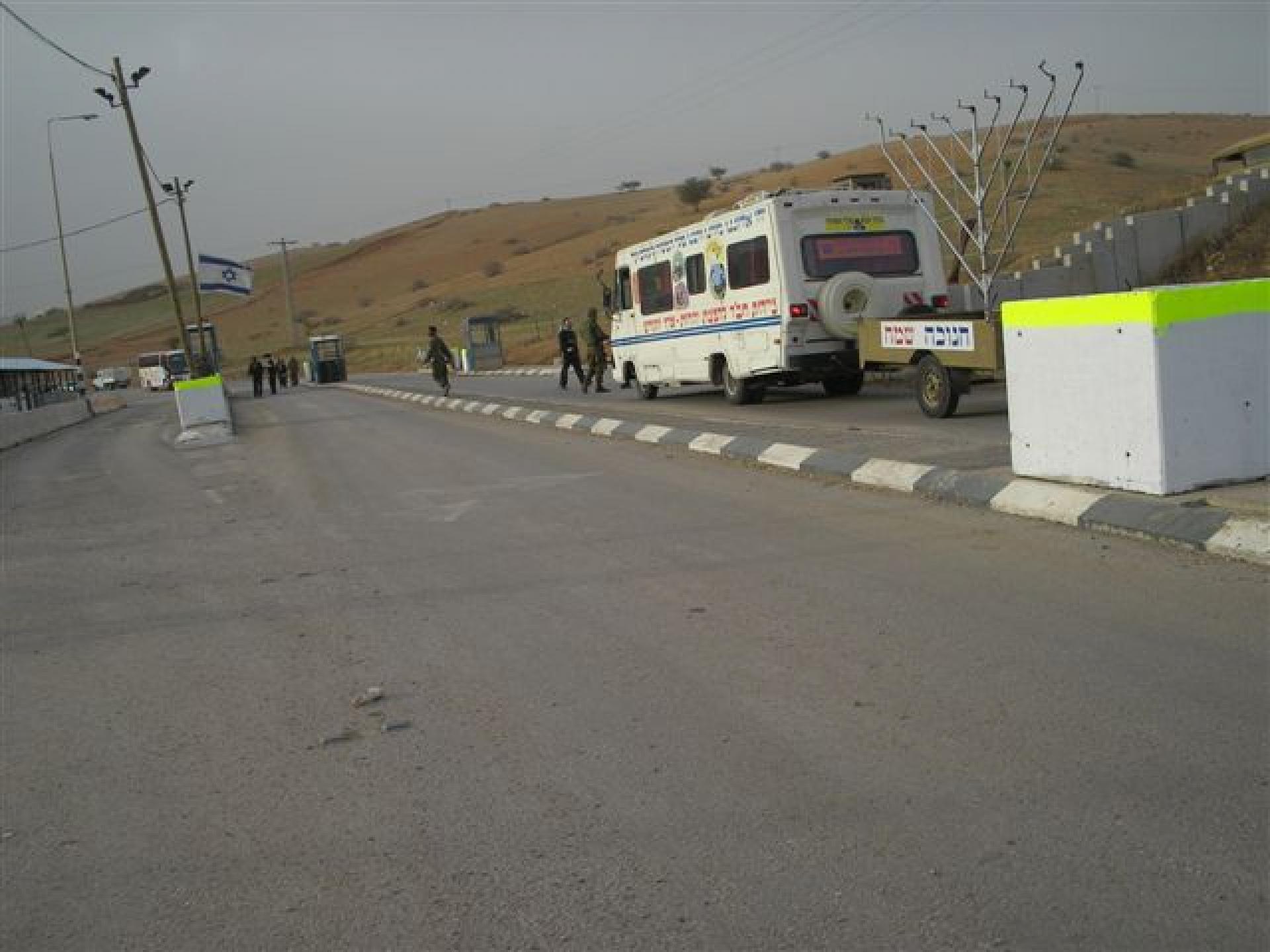 Hamra/Beqaot checkpoint 06.12.07