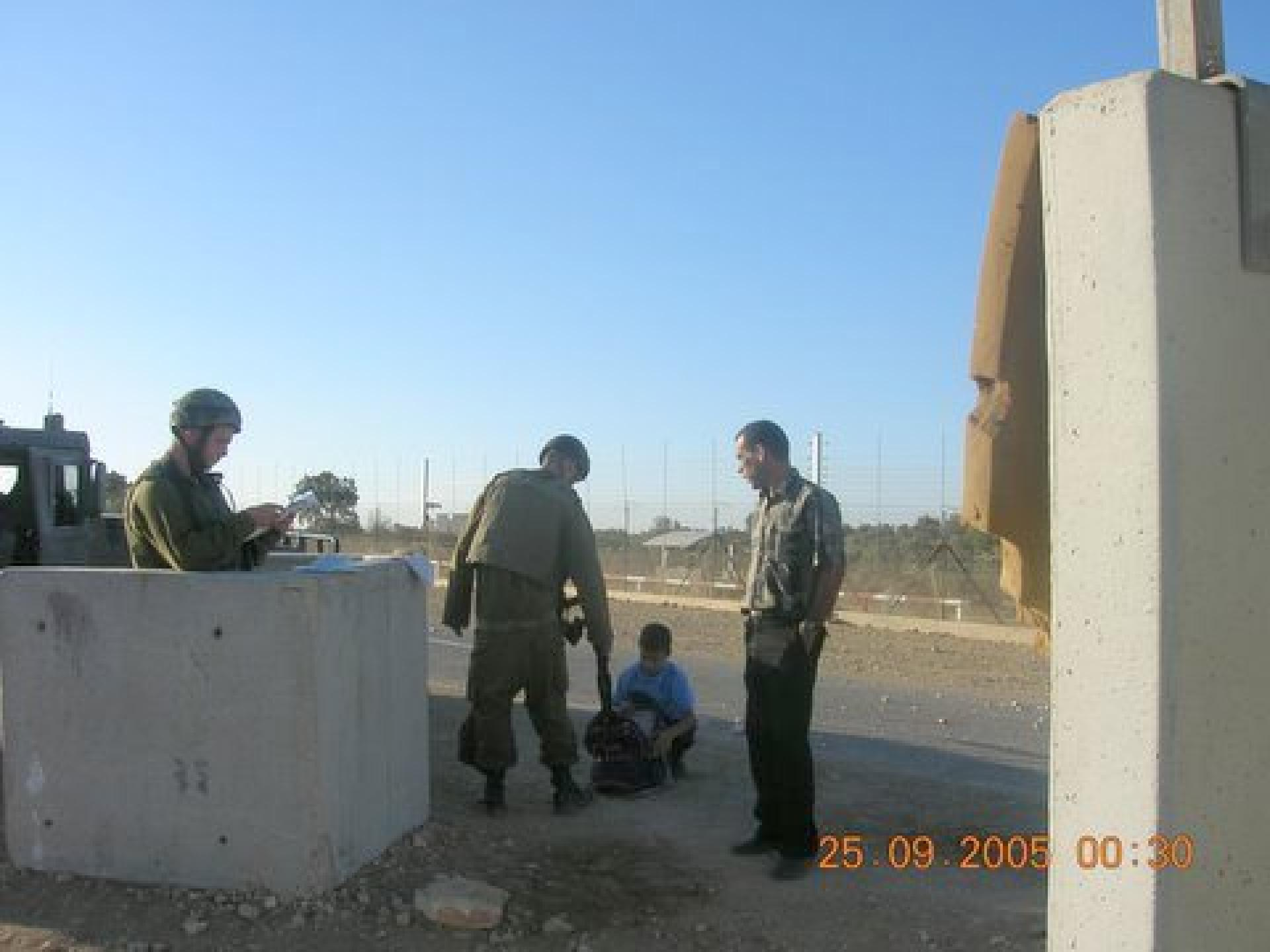Tura/Shaked checkpoint 25.09.05