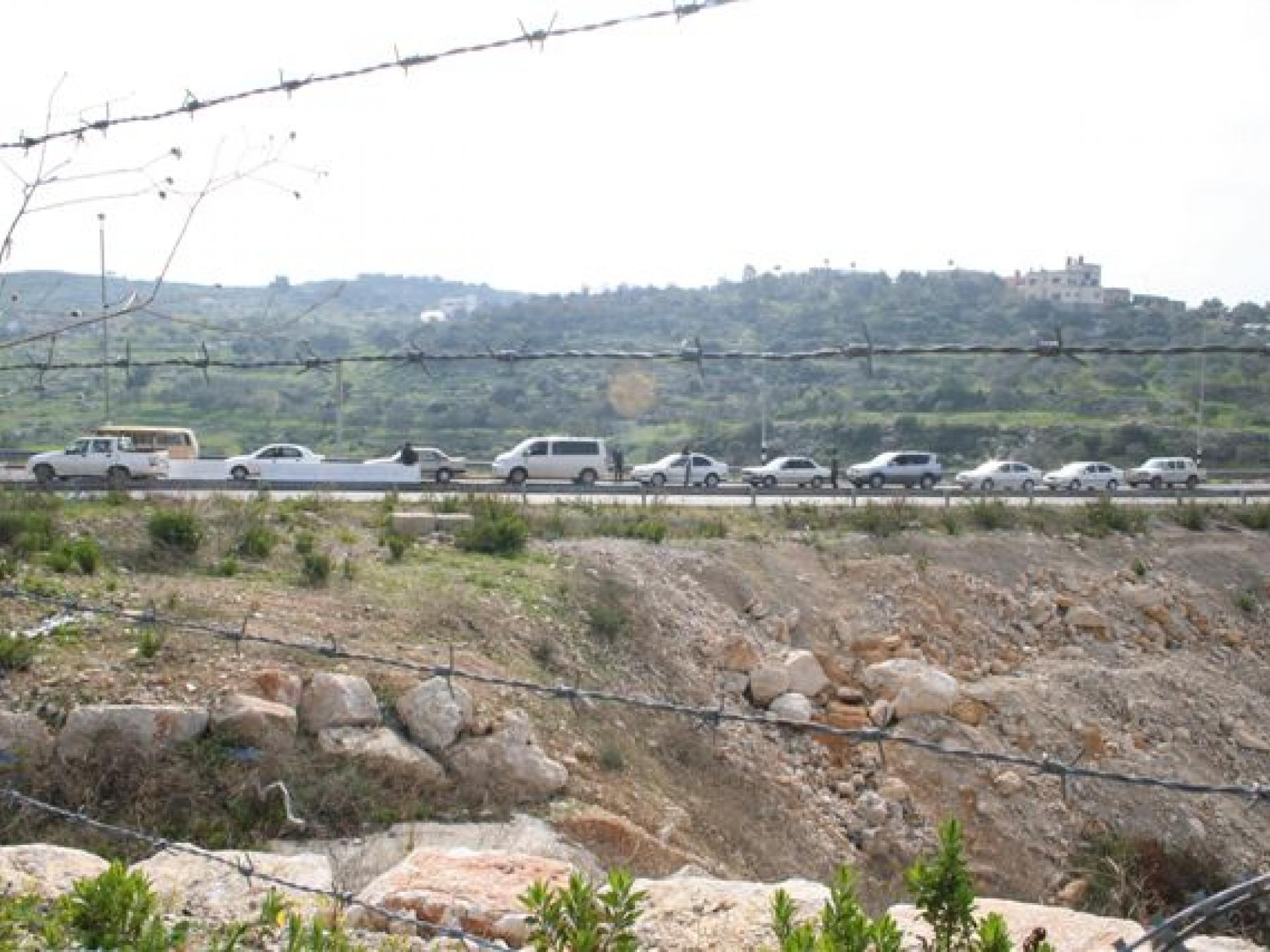 Barta'a/Reikhan checkpoint 01.03.08
