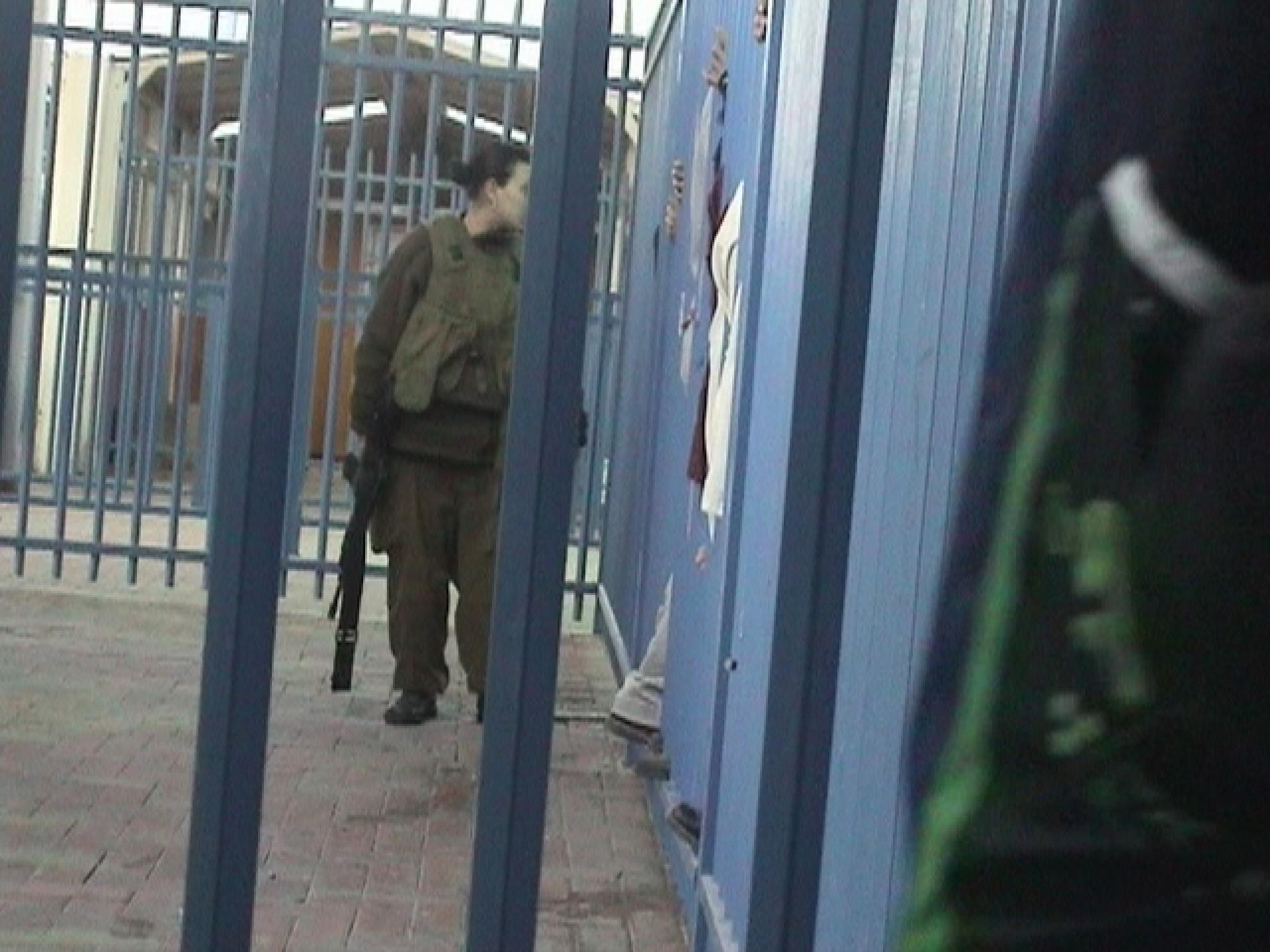 Qalandiya checkpoint 31.03.08