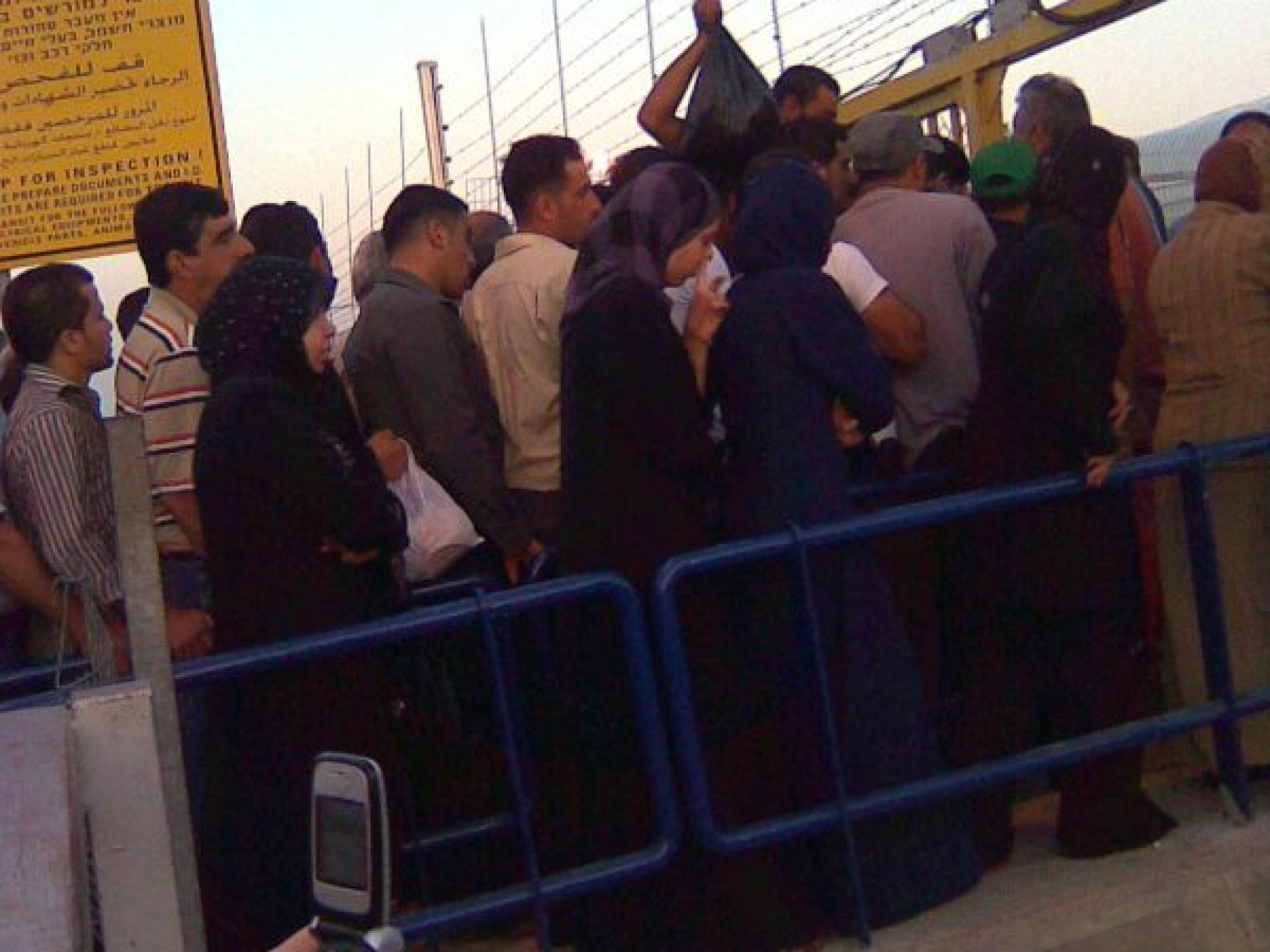 Barta'a/Reikhan checkpoint 02.06.08