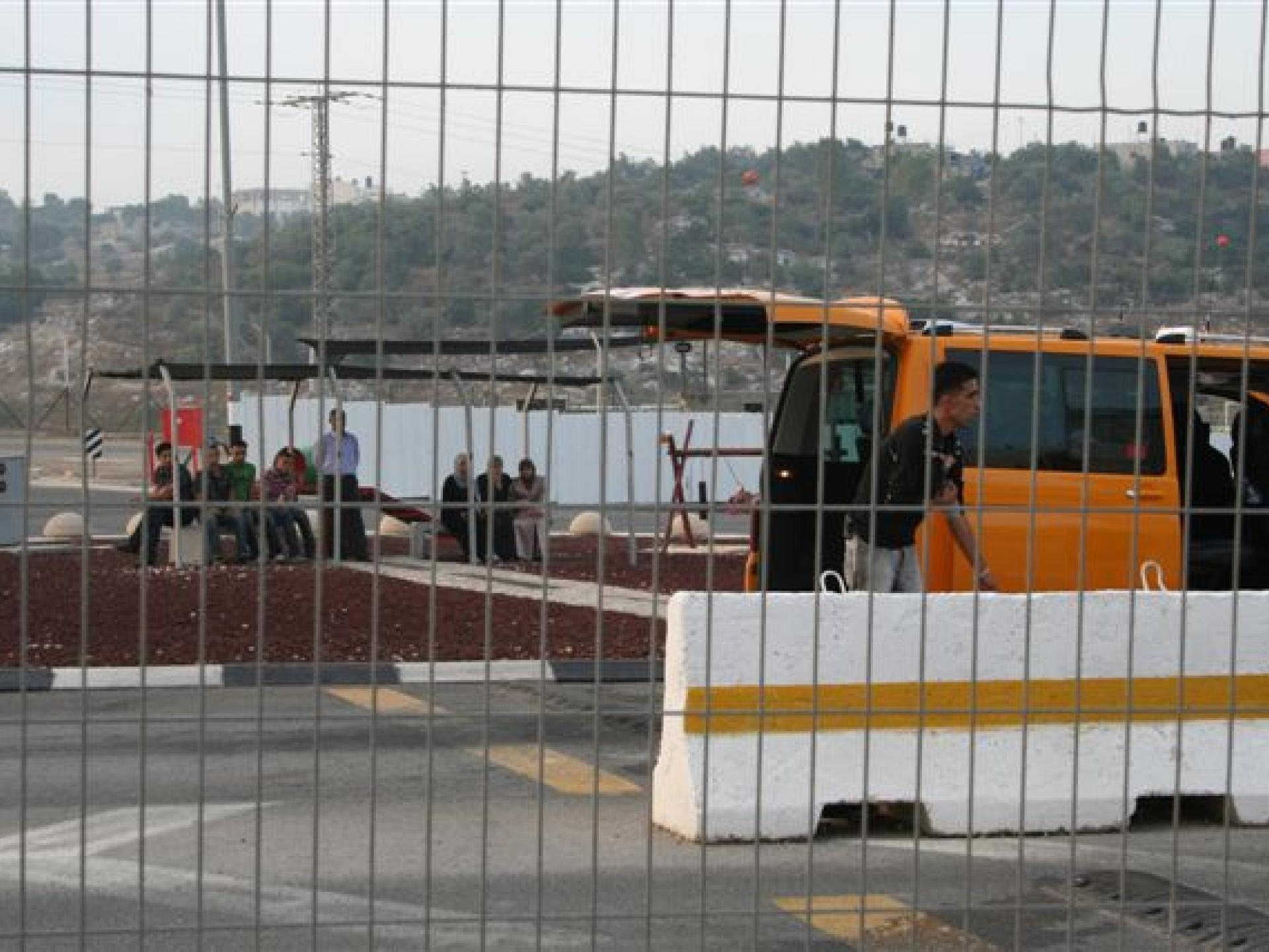 Barta'a/Reikhan checkpoint 13.07.08