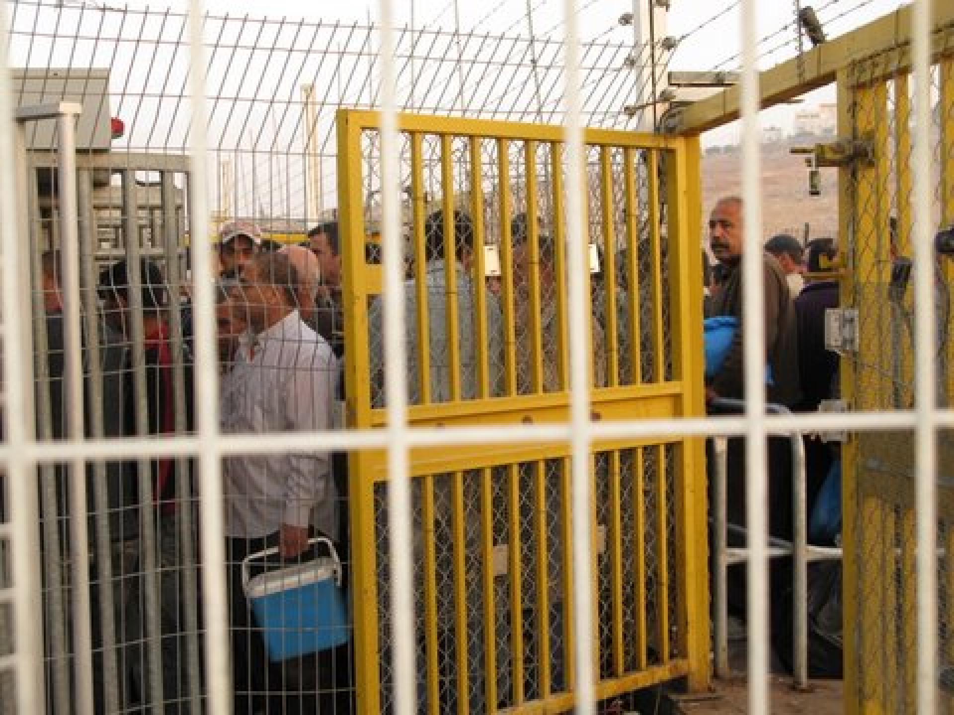 Irtah (Sha'are Efrayim) checkpoint 11.11.08