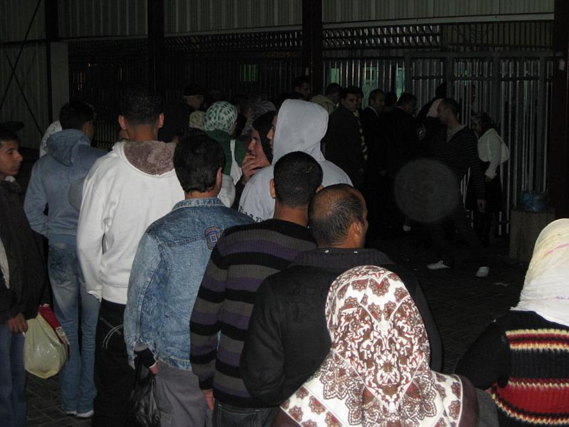 Qalandiya checkpoint 09.12.08
