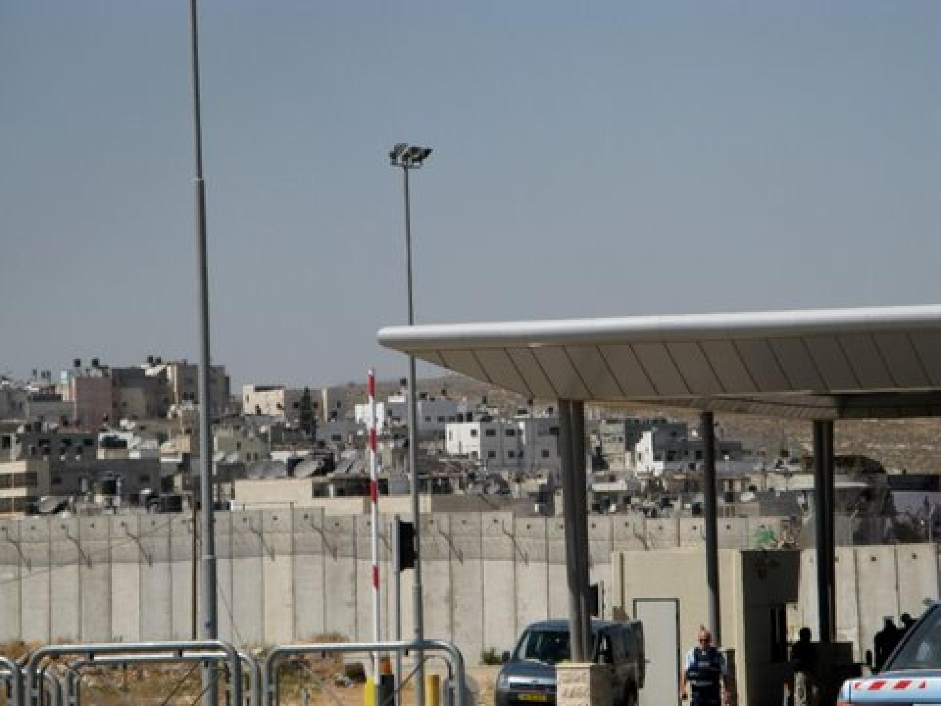 Qalandiya checkpoint 15.05.08