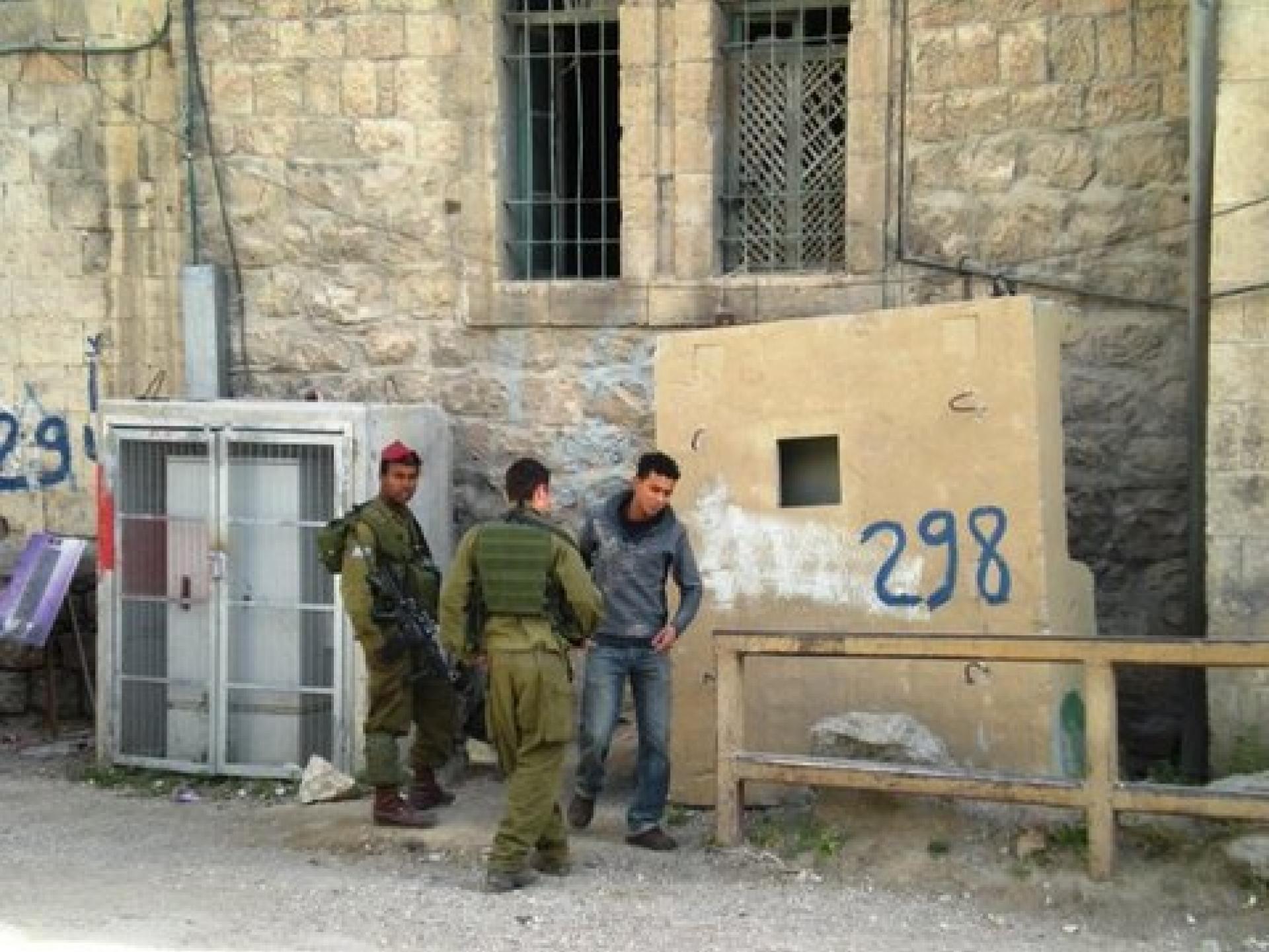 Hebron 26.04.09