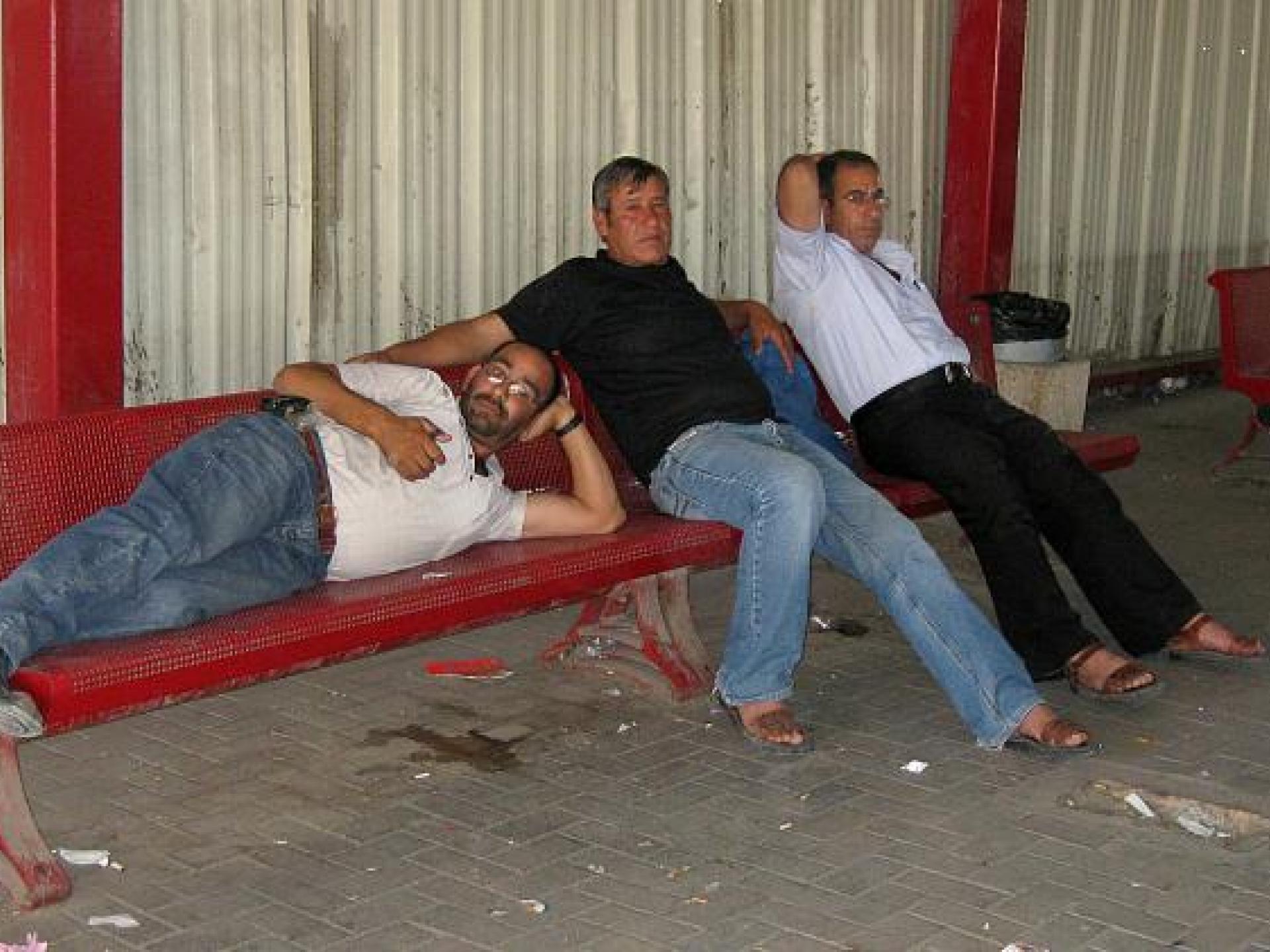 Qalandiya checkpoint 12.07.09