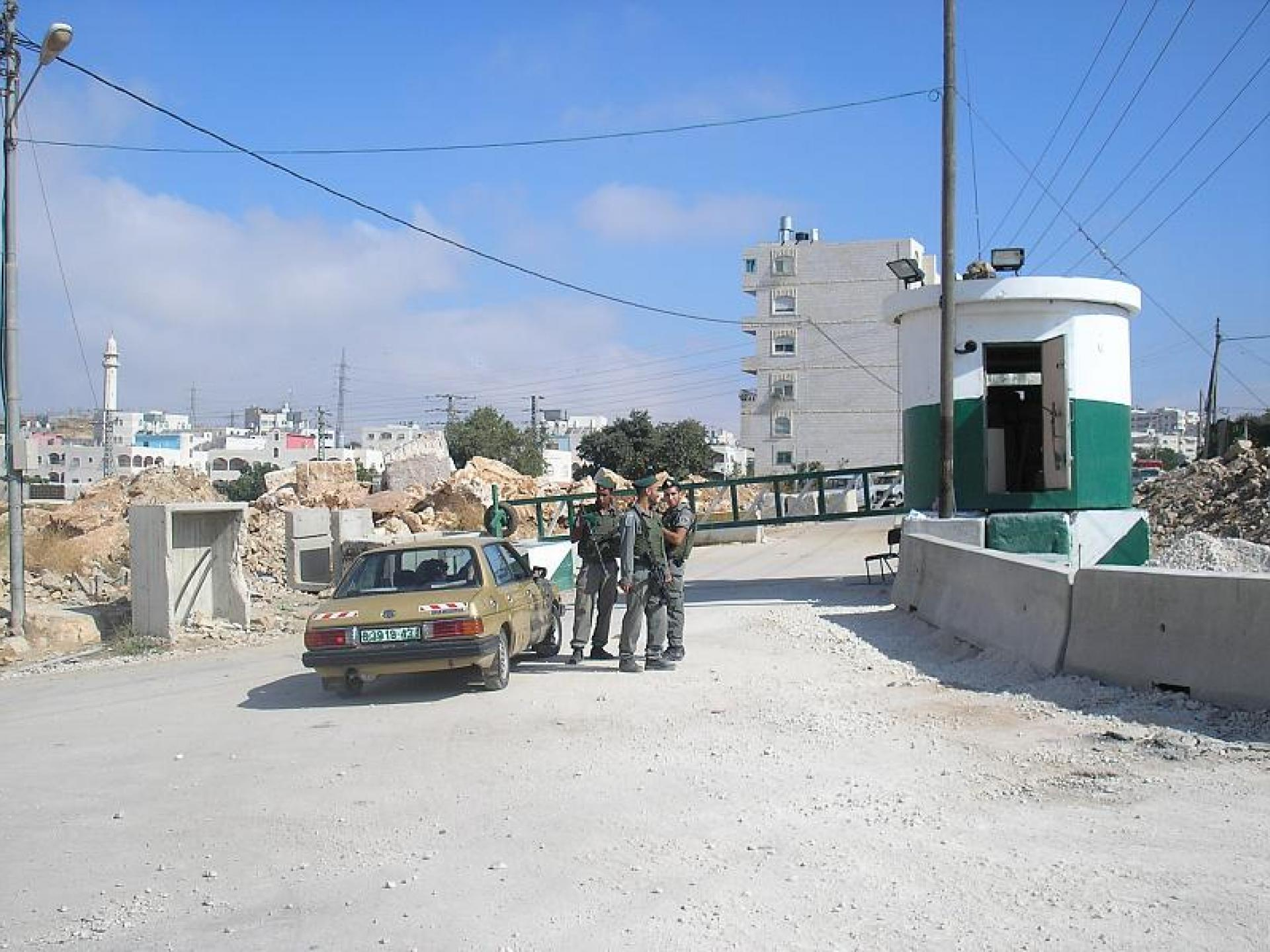 Hebron 11.08.09