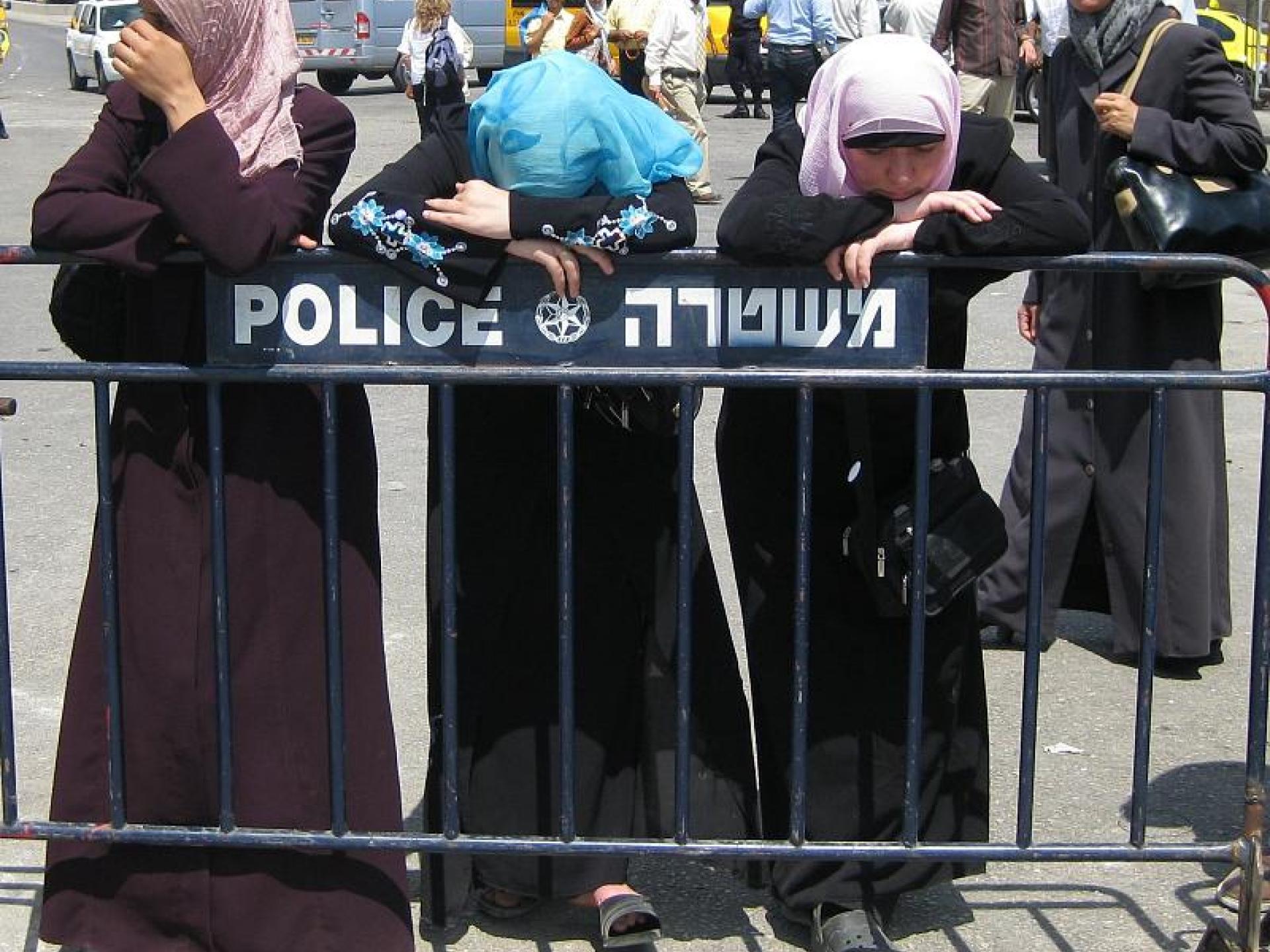 Qalandiya checkpoint 28.08.09