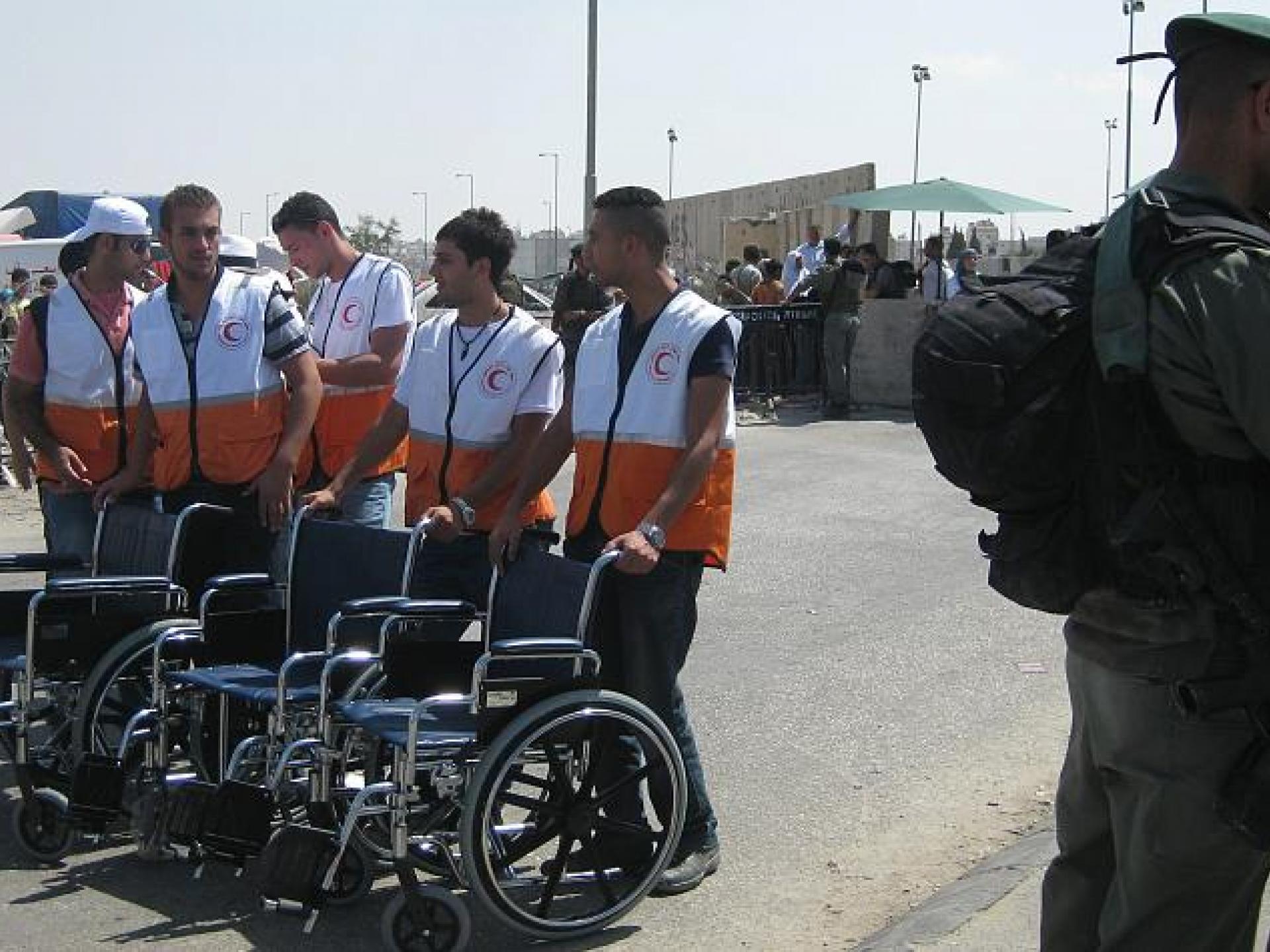 Qalandiya checkpoint 18.09.09