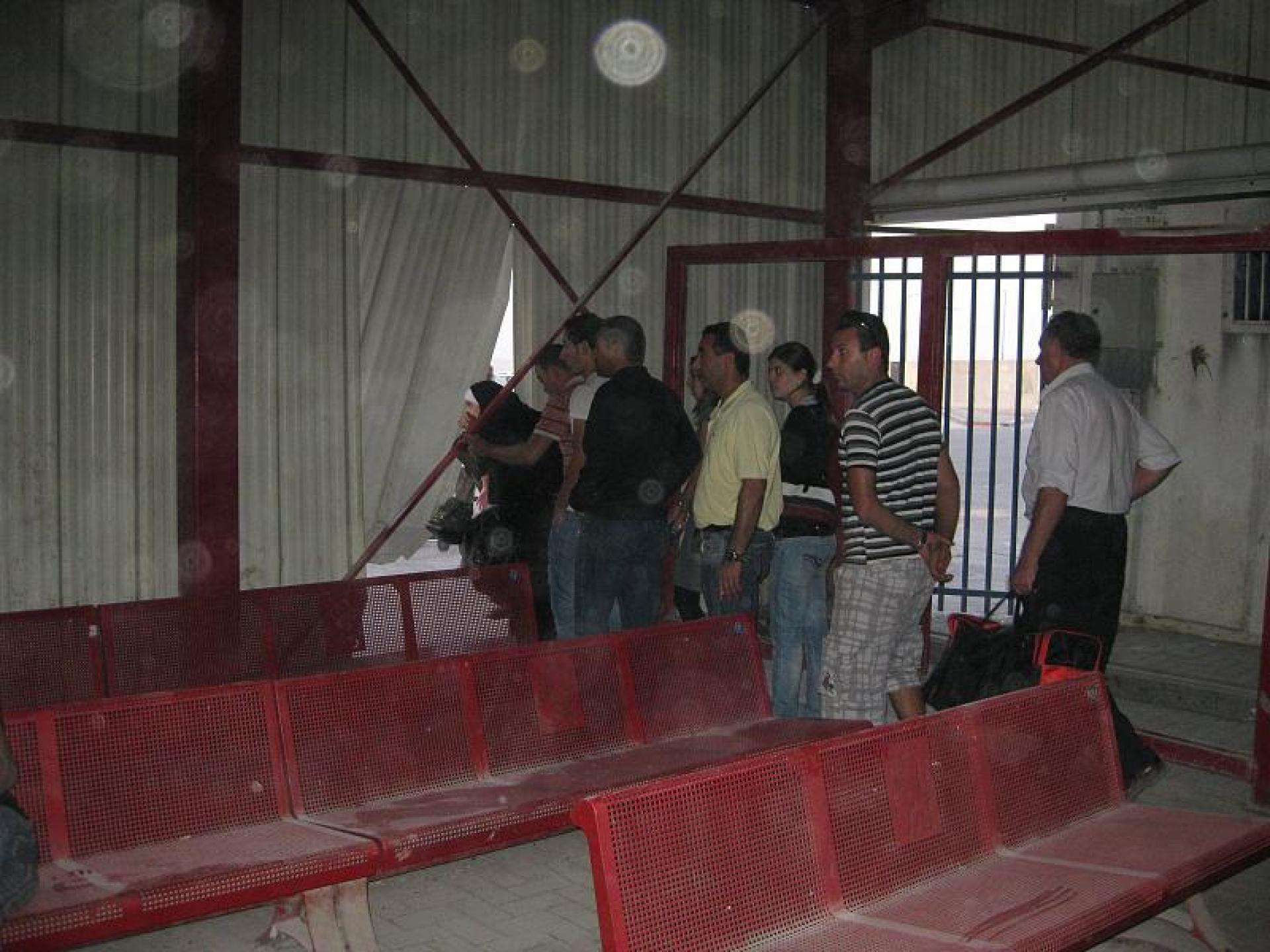 Qalandiya checkpoint 25.10.09