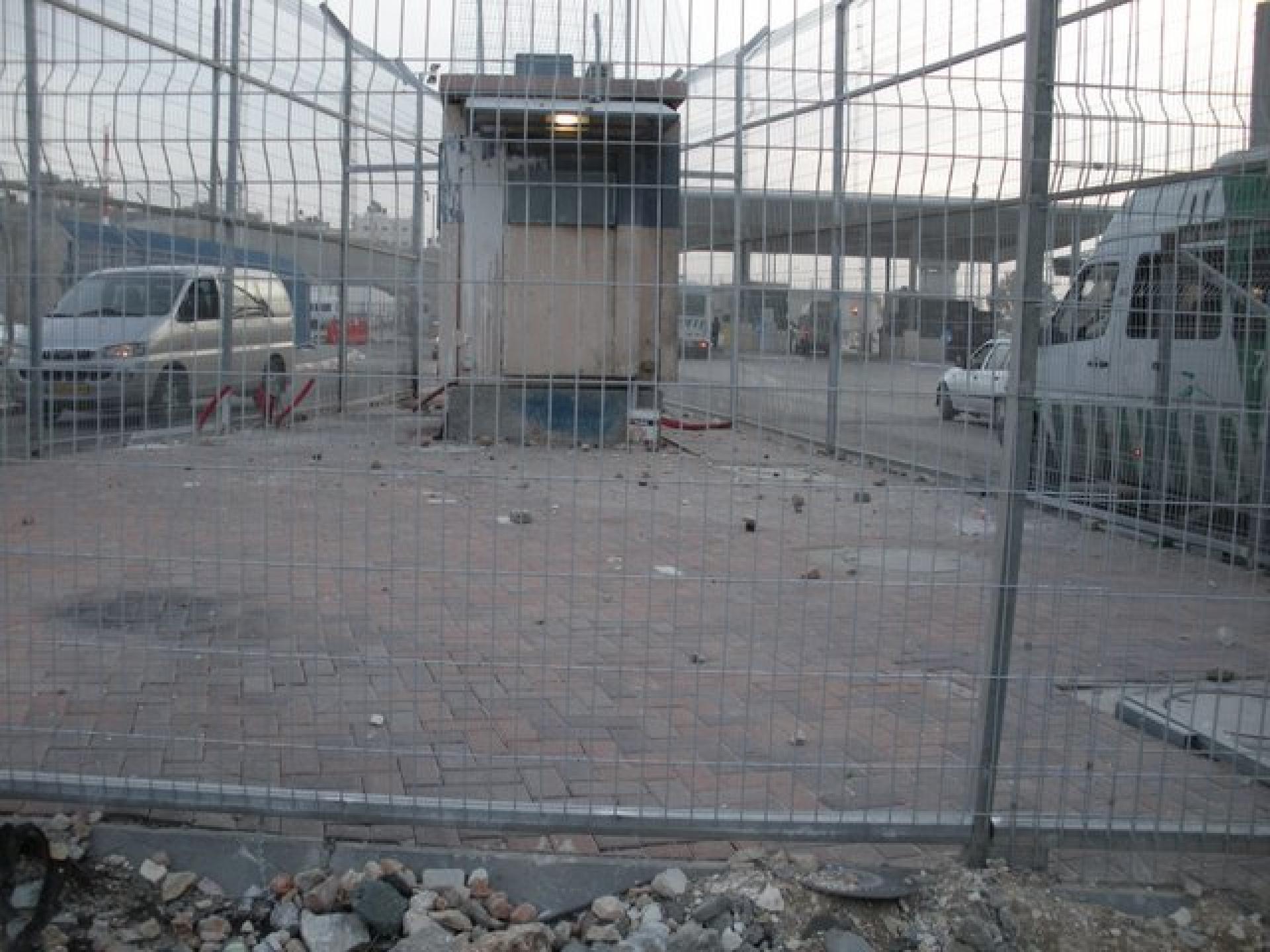 Qalandiya checkpoint 07.11.09