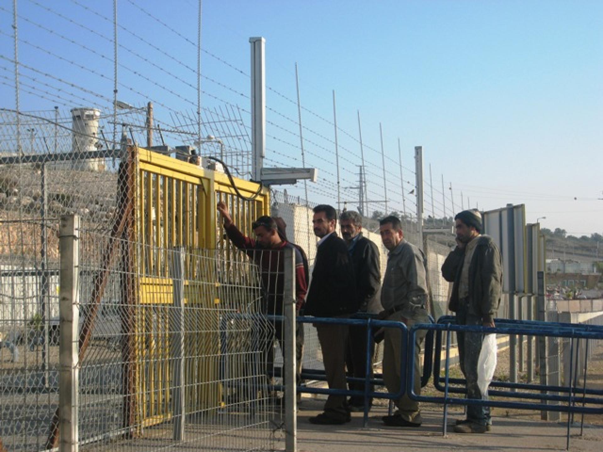 Barta'a/Reikhan checkpoint 26.11.09