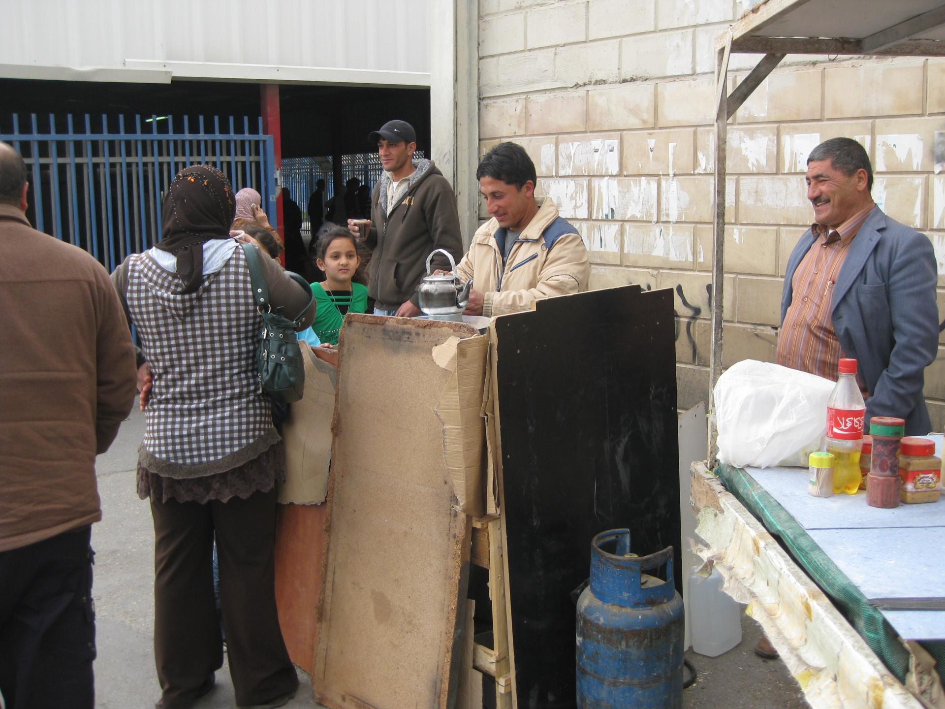 Qalandiya checkpoint 21.02.10