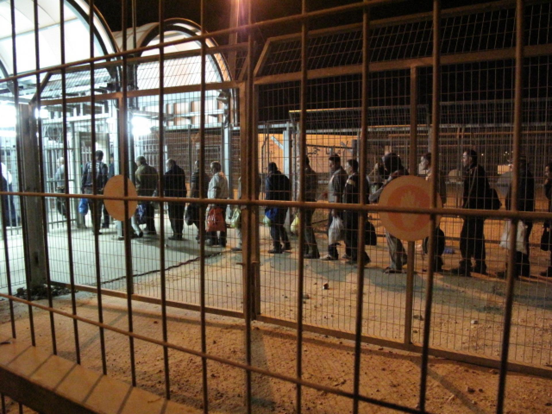 Irtah/Sha'ar Efrayim checkpoint 07.04.10