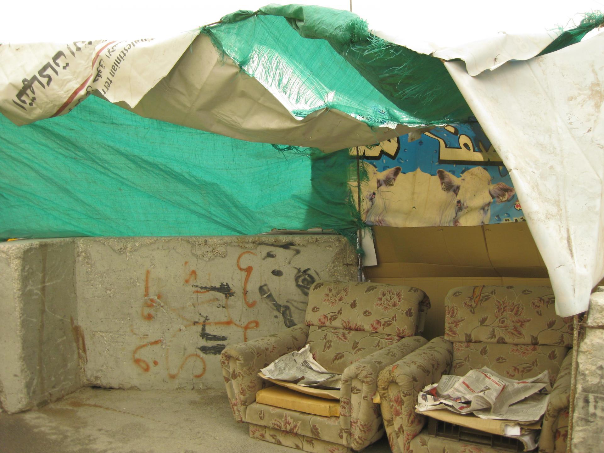 Qalandiya checkpoint 11.04.10