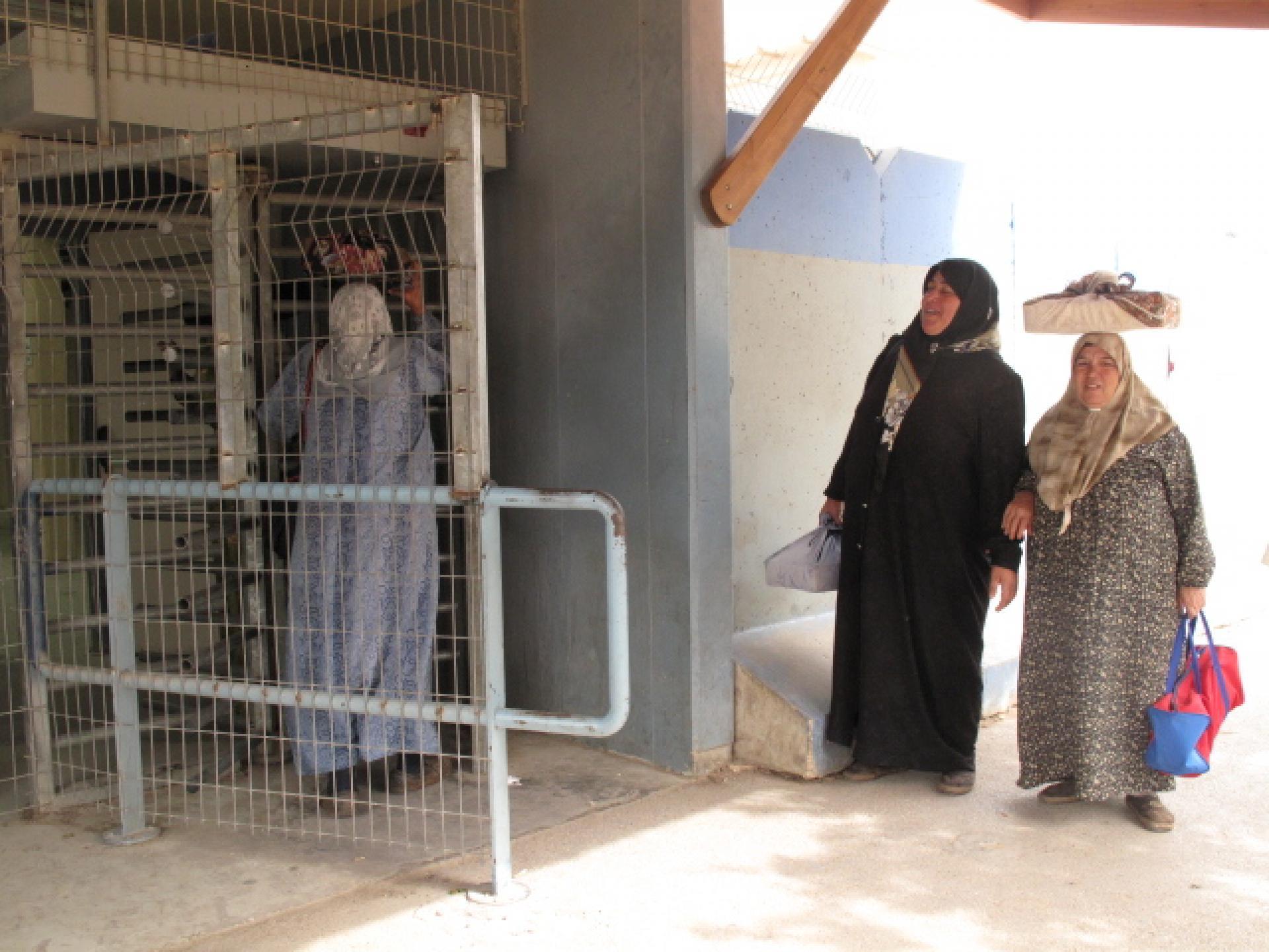 Irtah/Sha'ar Efrayim checkpoint 17.05.10
