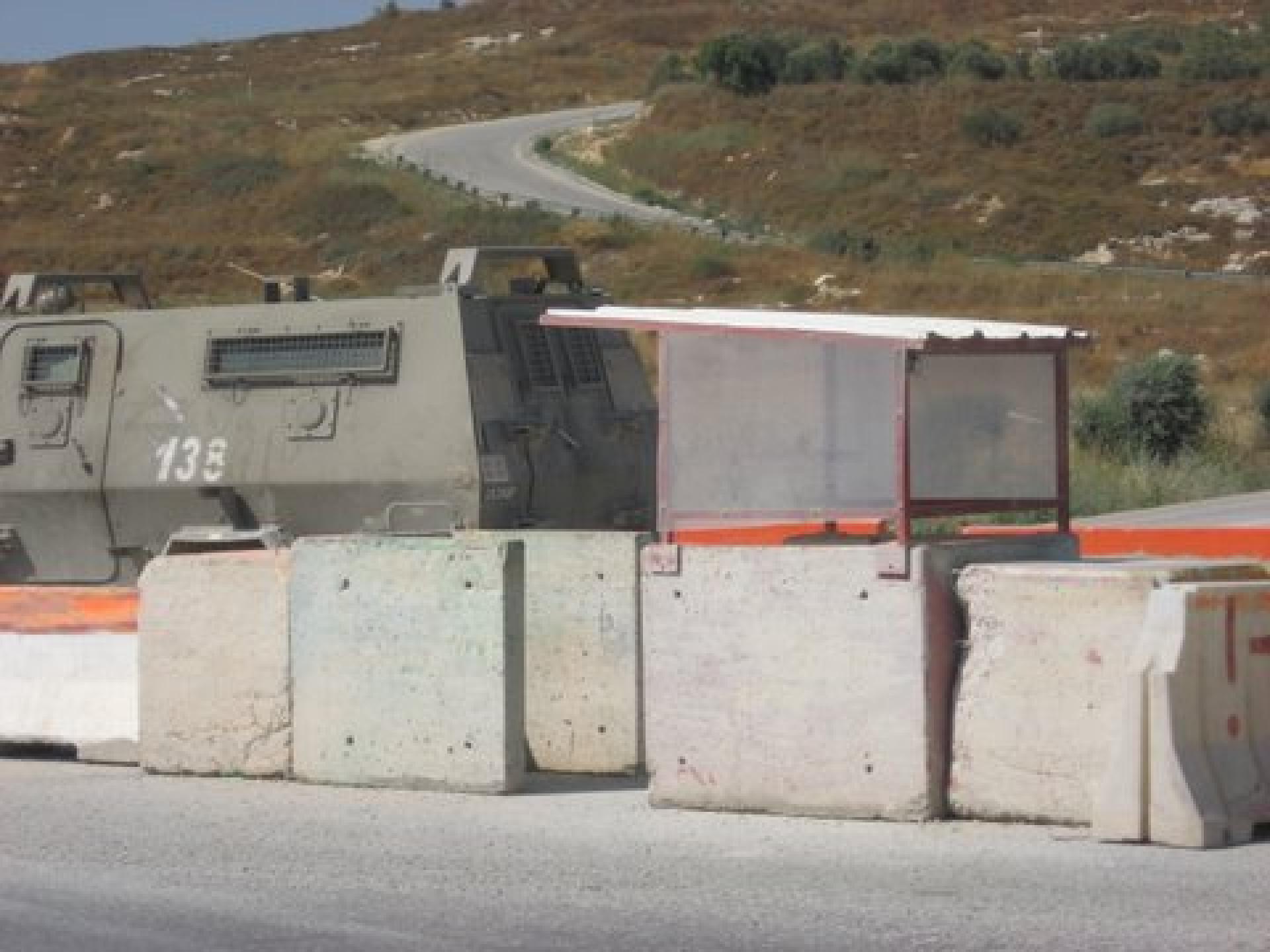 Deir Sharaf/Haviot checkpoint 15.06.10