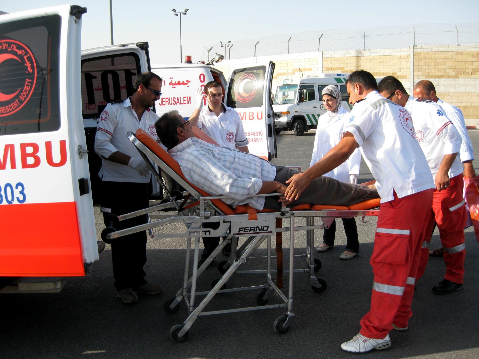 Qalandiya checkpoint 13.06.10