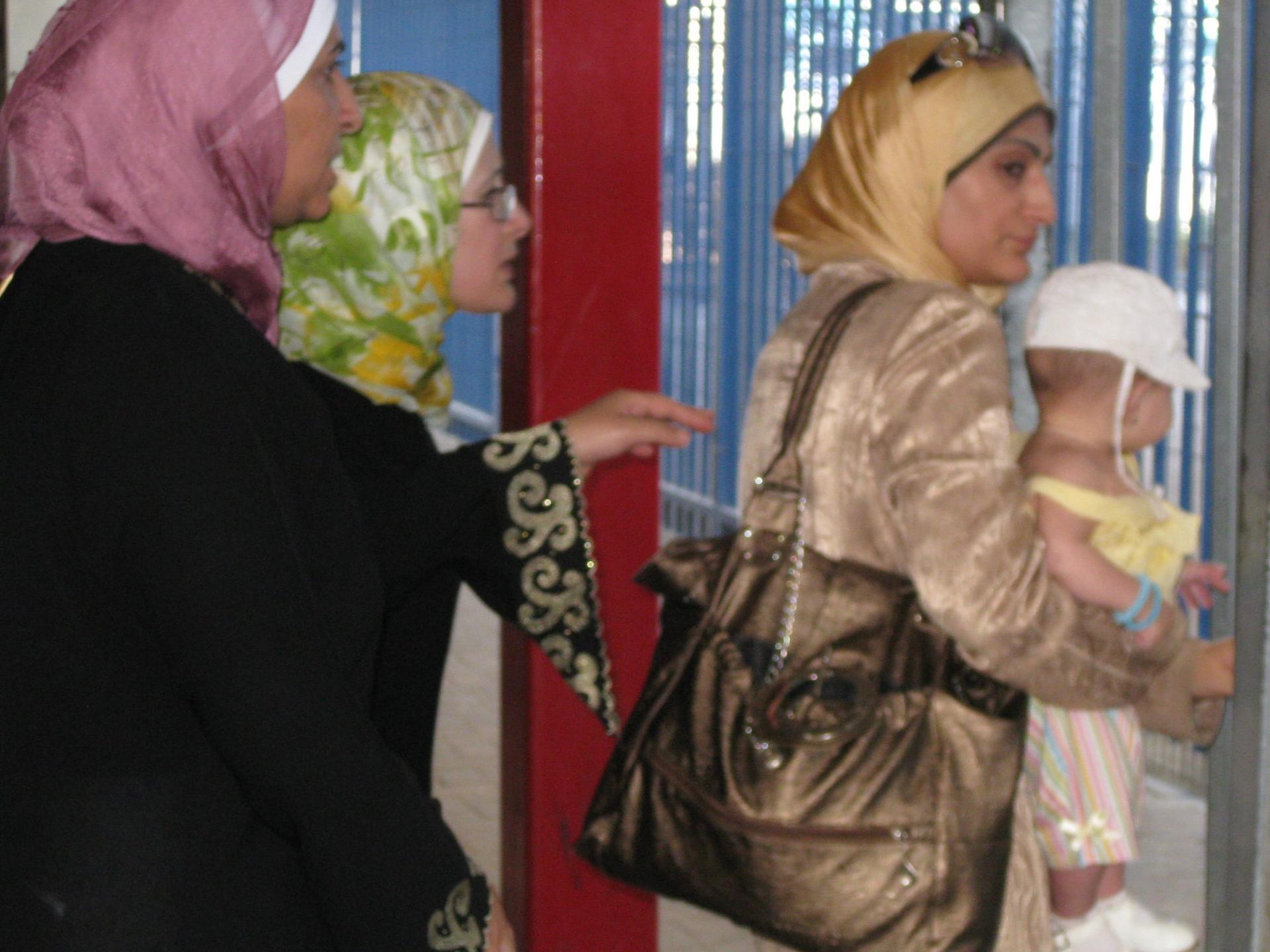 Qalandiya checkpoint 18.07.10