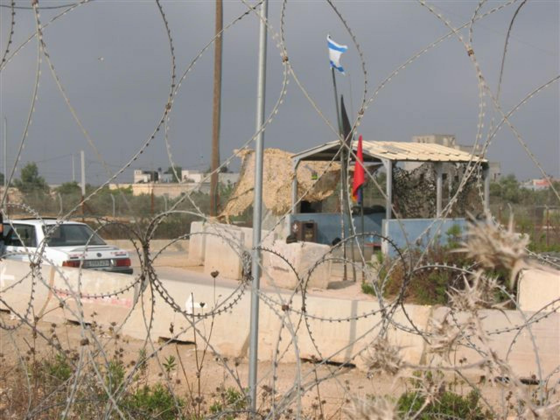 Tura/Shaked checkpoint 14.08.10