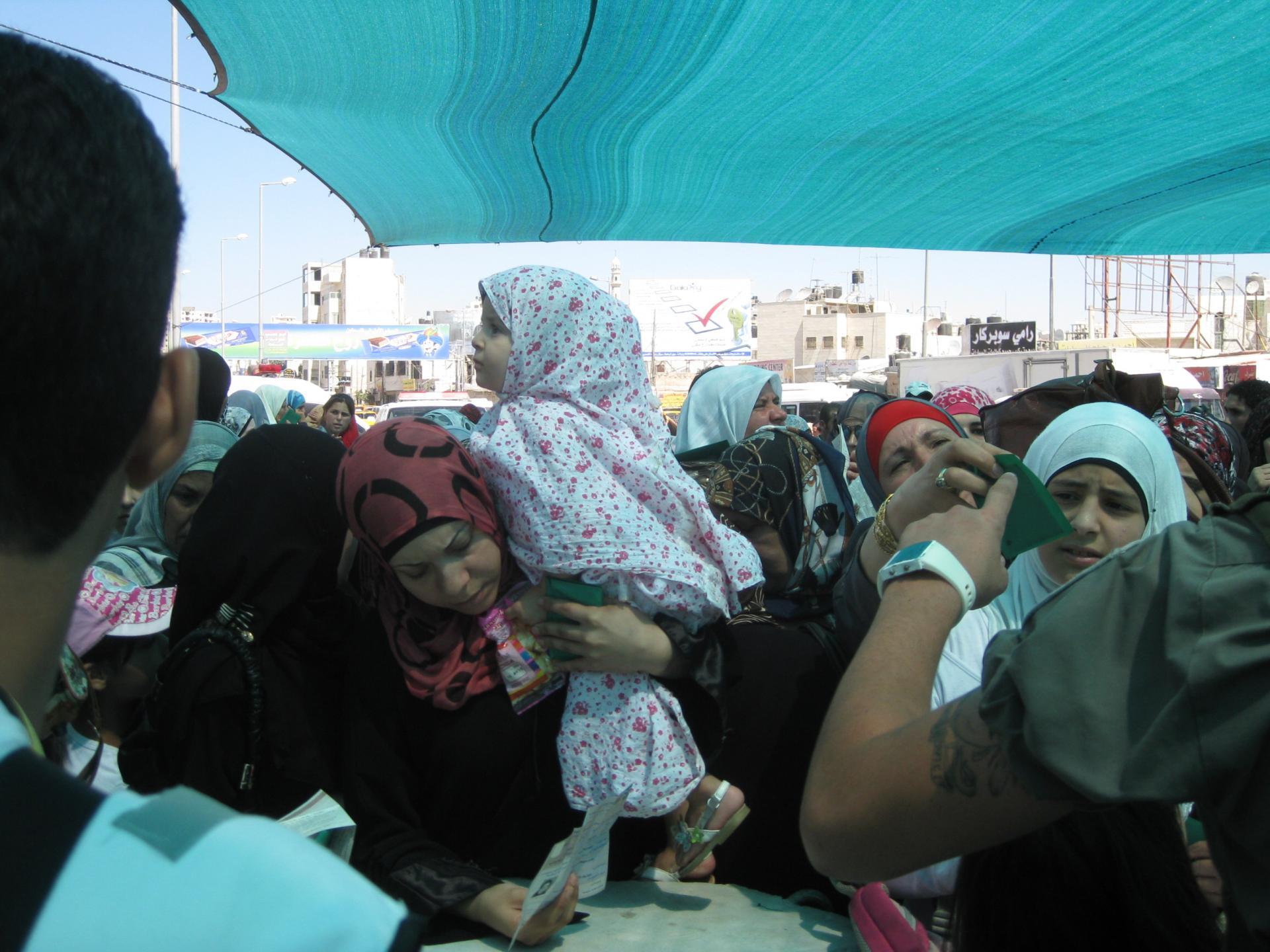Qalandiya checkpoint 03.09.10
