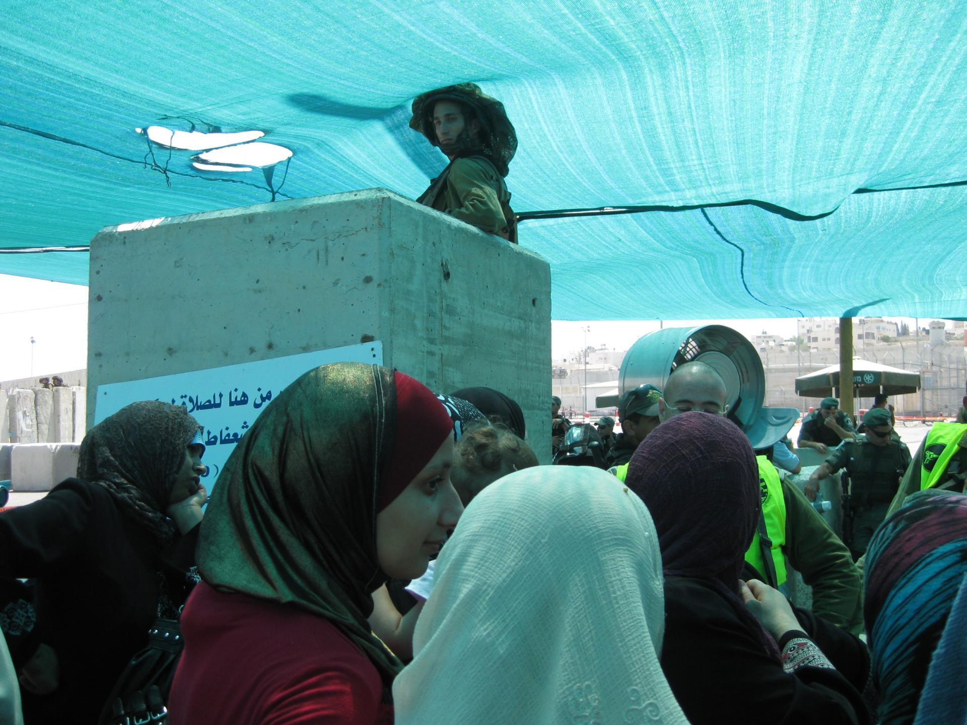 Qalandiya checkpoint 27.08.10