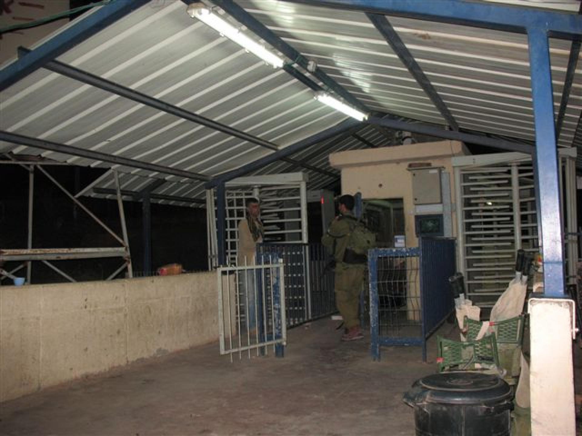 Tayasir checkpoint 30.08.10
