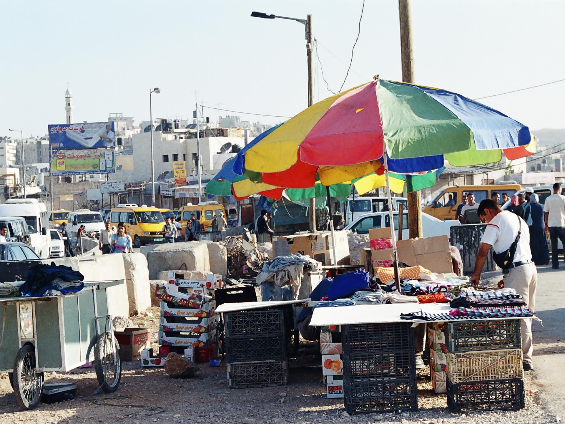 Qalandiya checkpoint 12.07.05