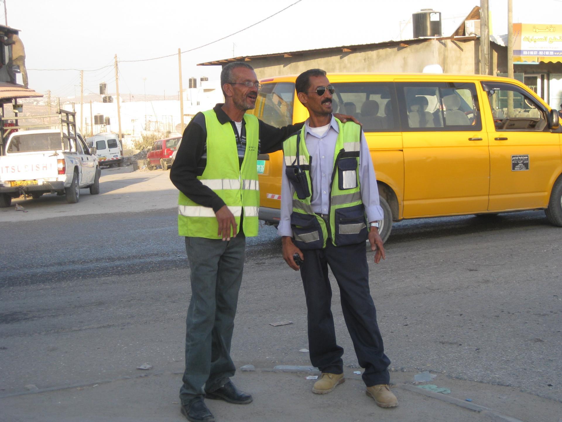 Qalandiya checkpoint 28.11.10