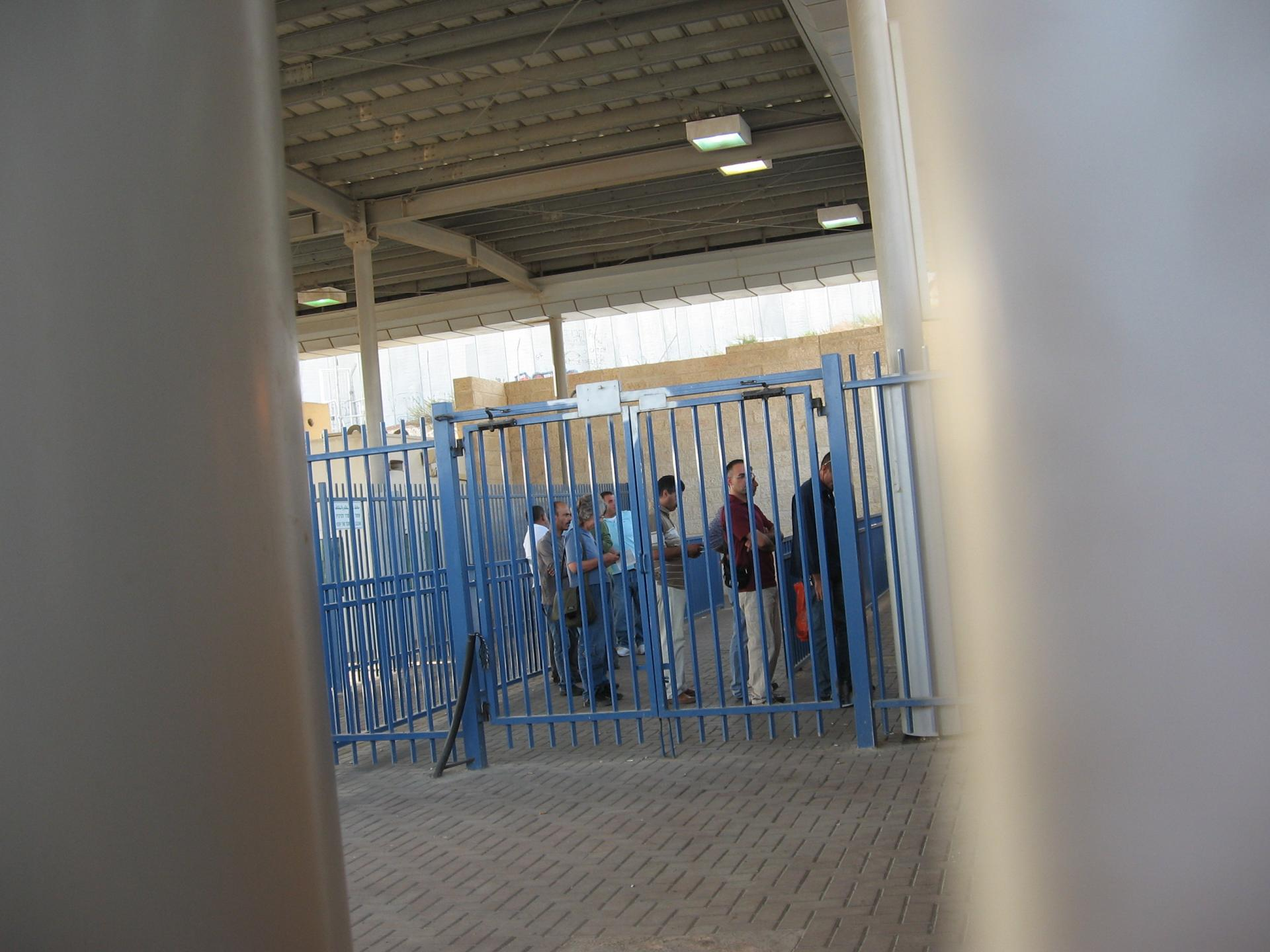 Ras Abu Sbeitan/Zeitim checkpoint 28.10.10
