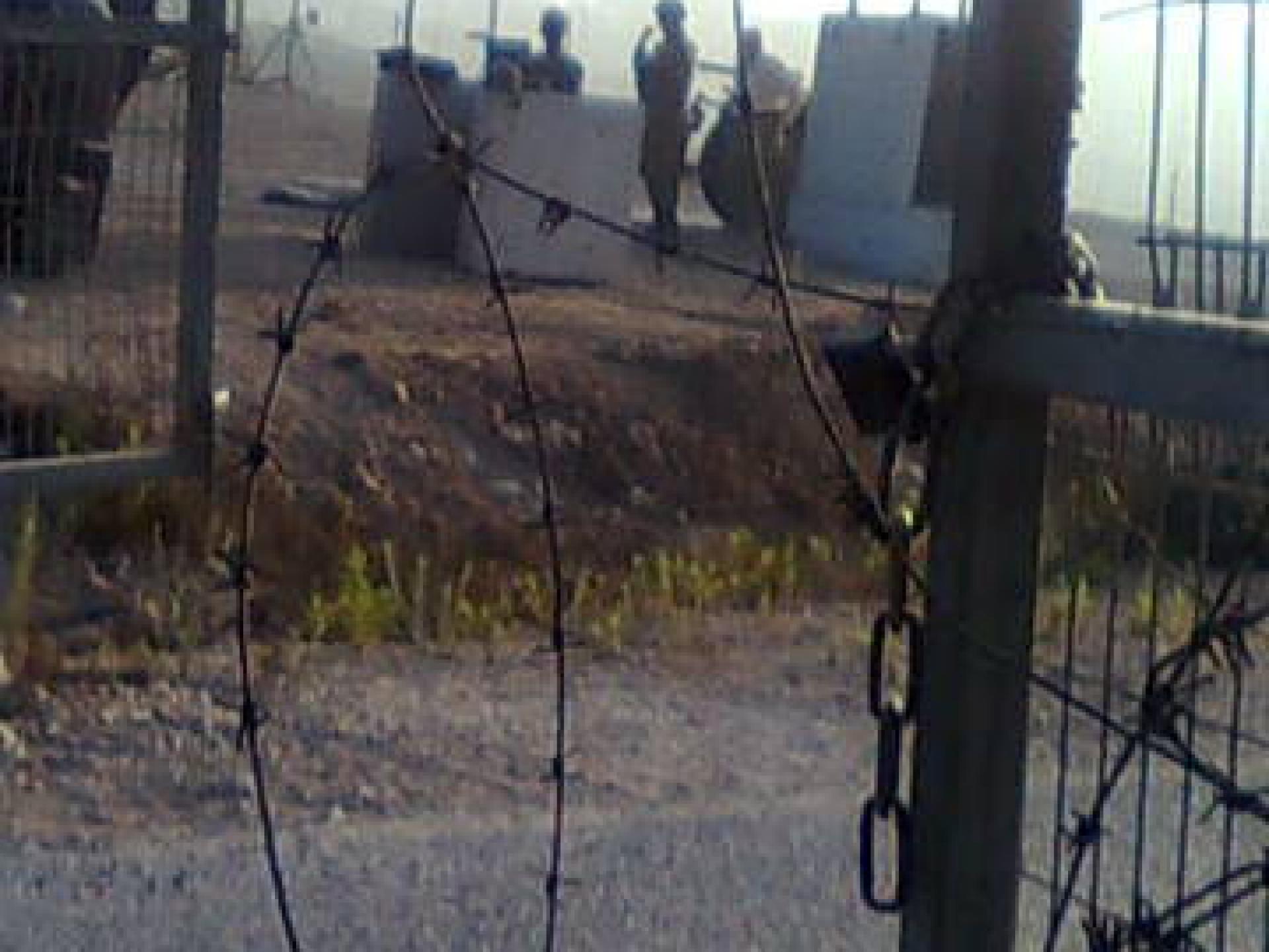 Ba'rta'a/Reikhan checkpoint 22.07.10