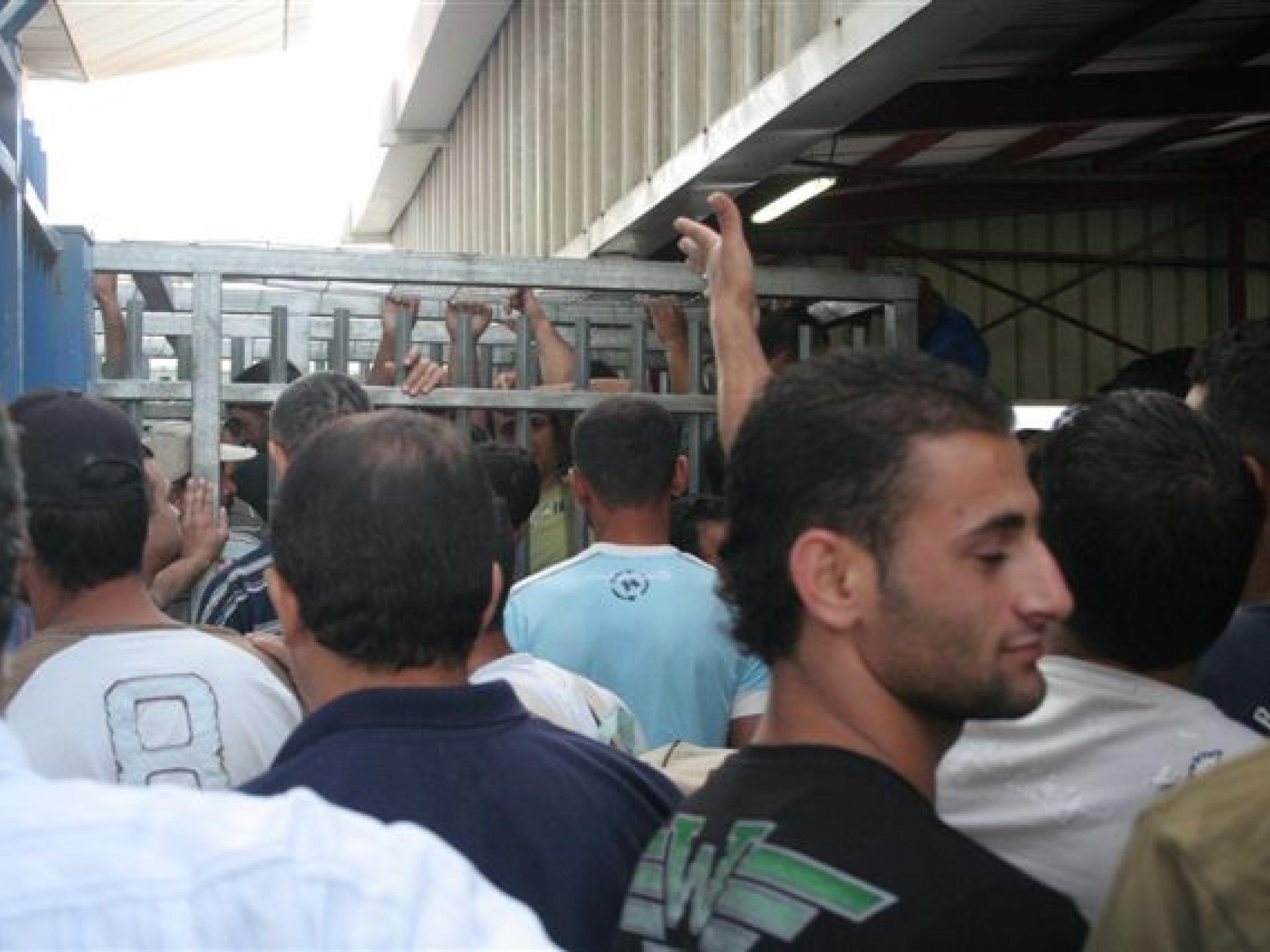 Qalandiya checkpoint 29.07.10