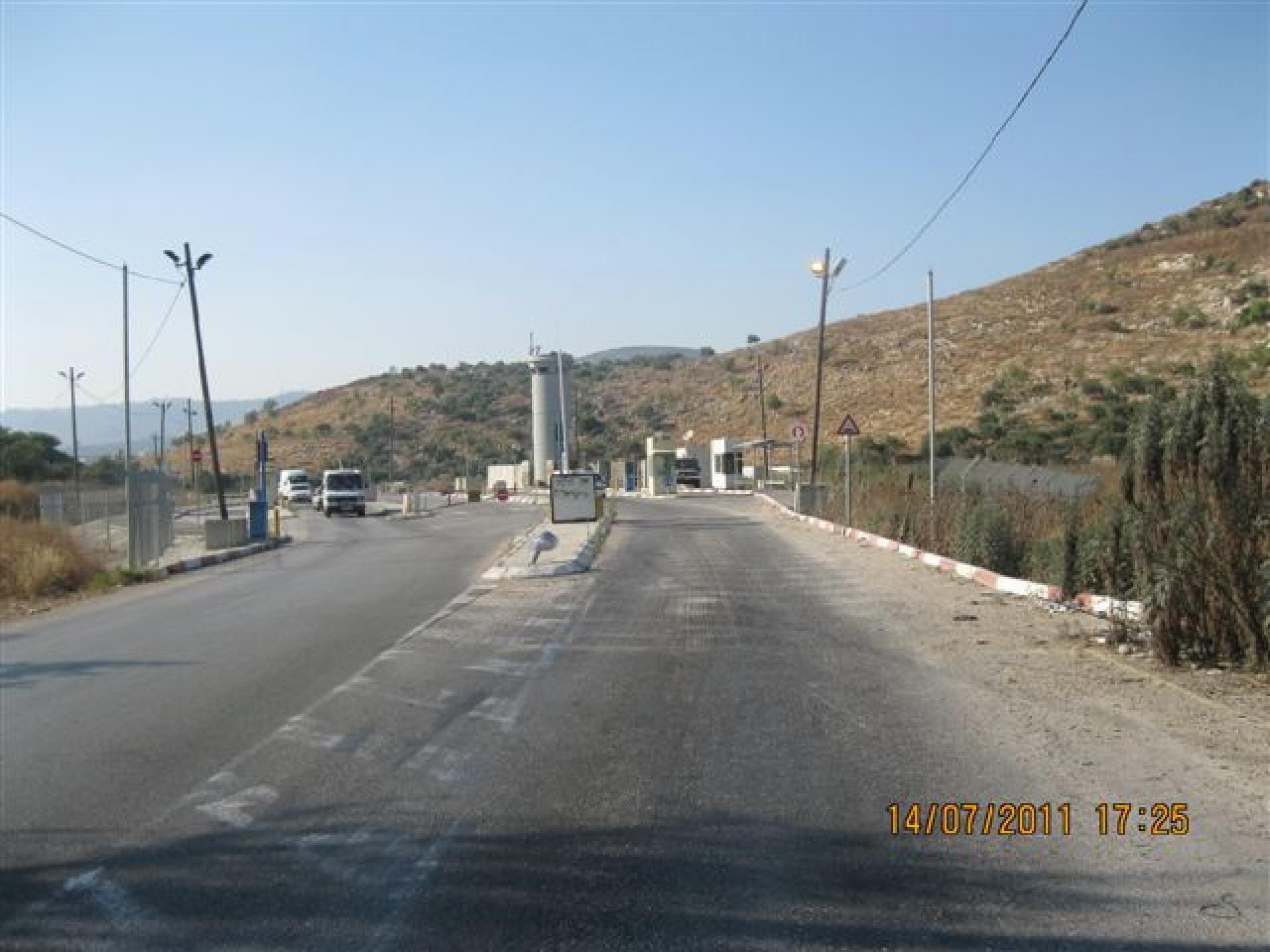 Anabta Checkpoint 14.07.11