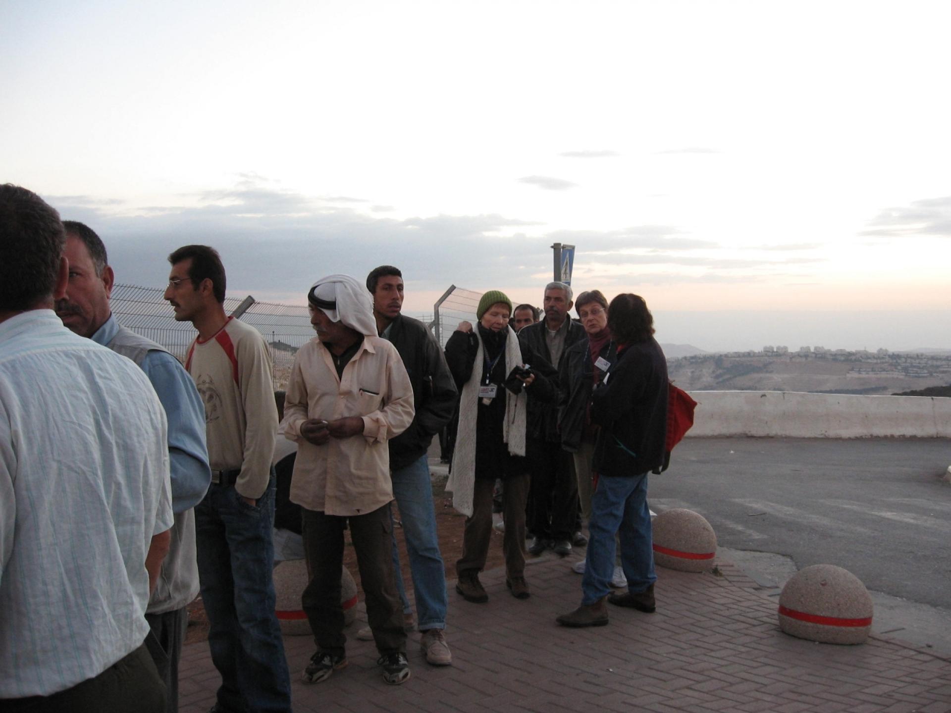 Ras Abu Sbeitan/Zeitim/zaytoun checkpoint 15.10.07