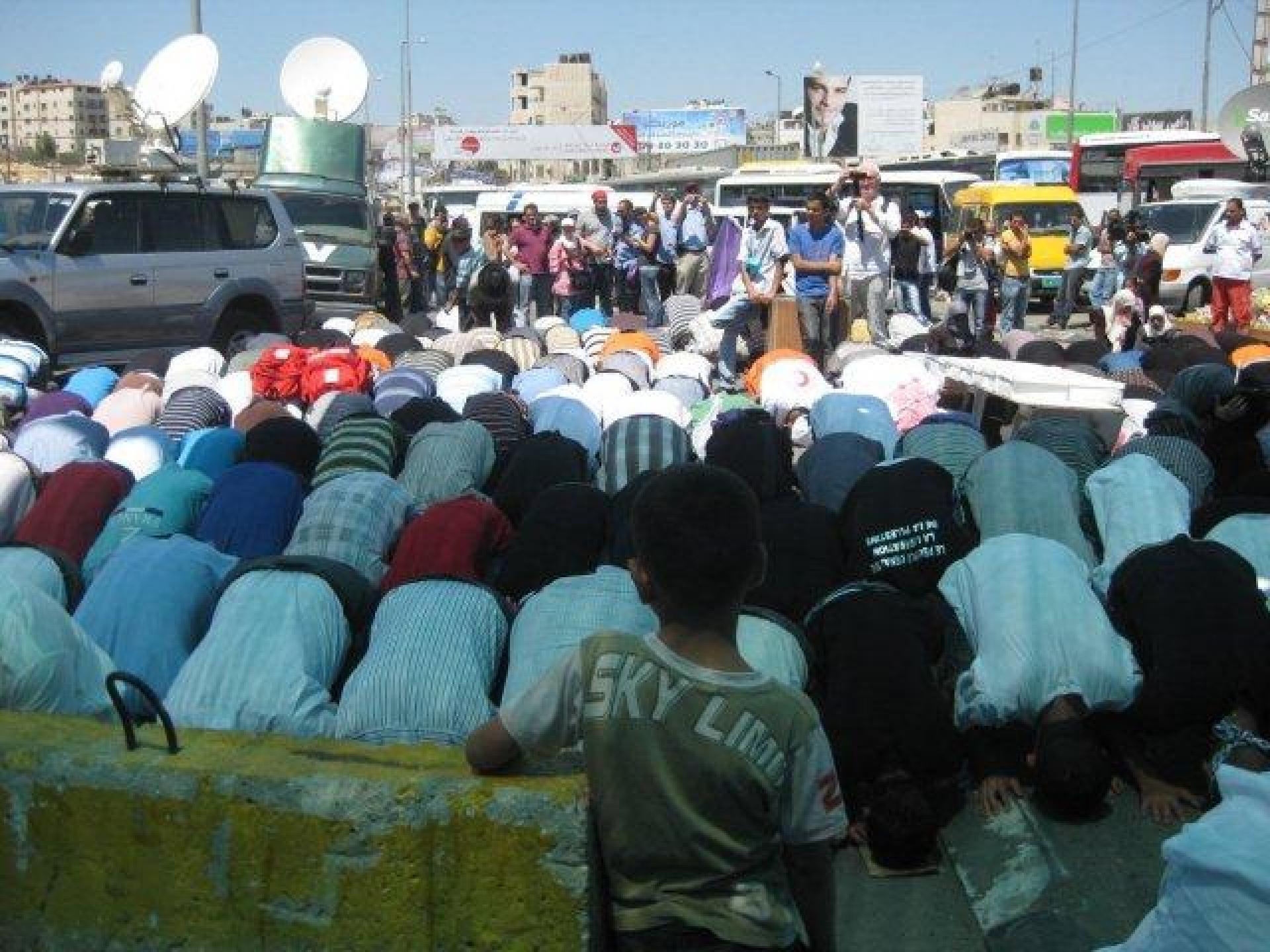 Qalandiya checkpoint 26.08.11